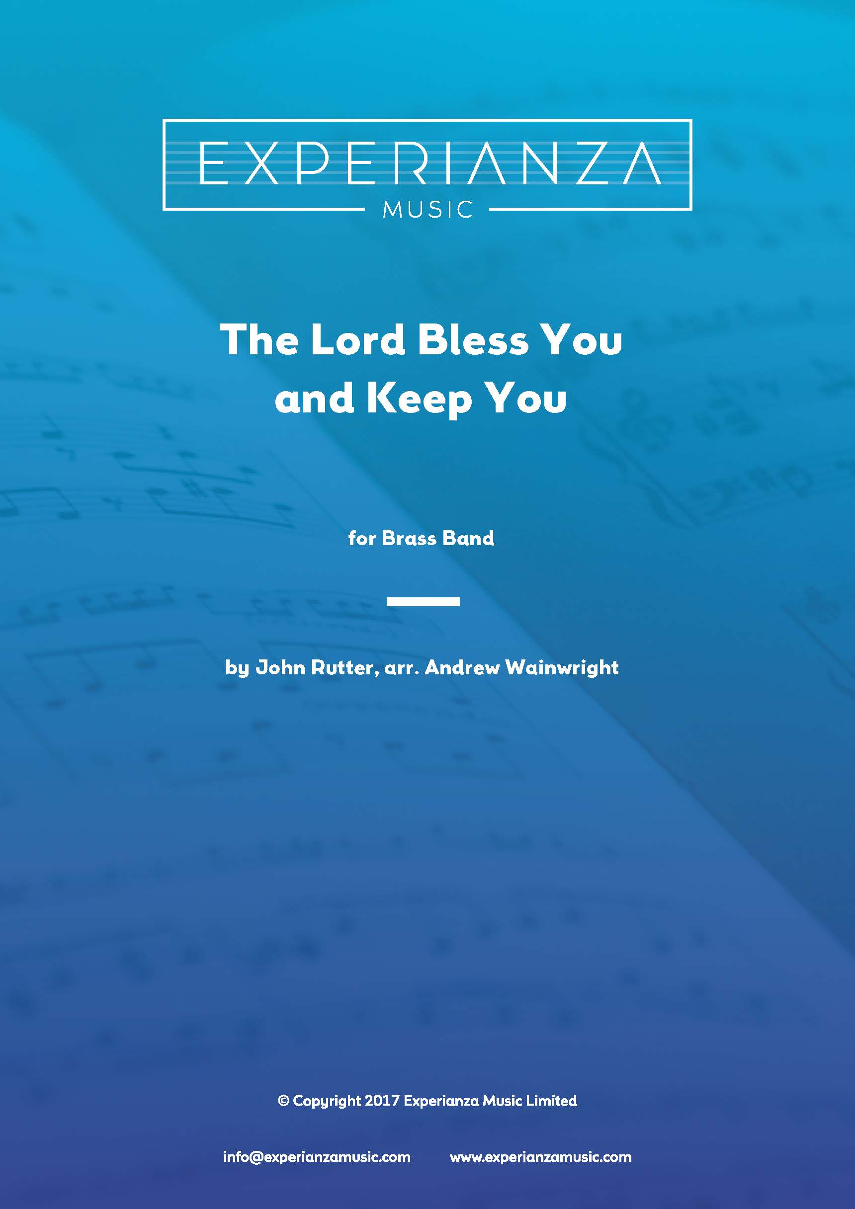 The Lord Bless You and Keep You (Brass Band - Score and Parts)