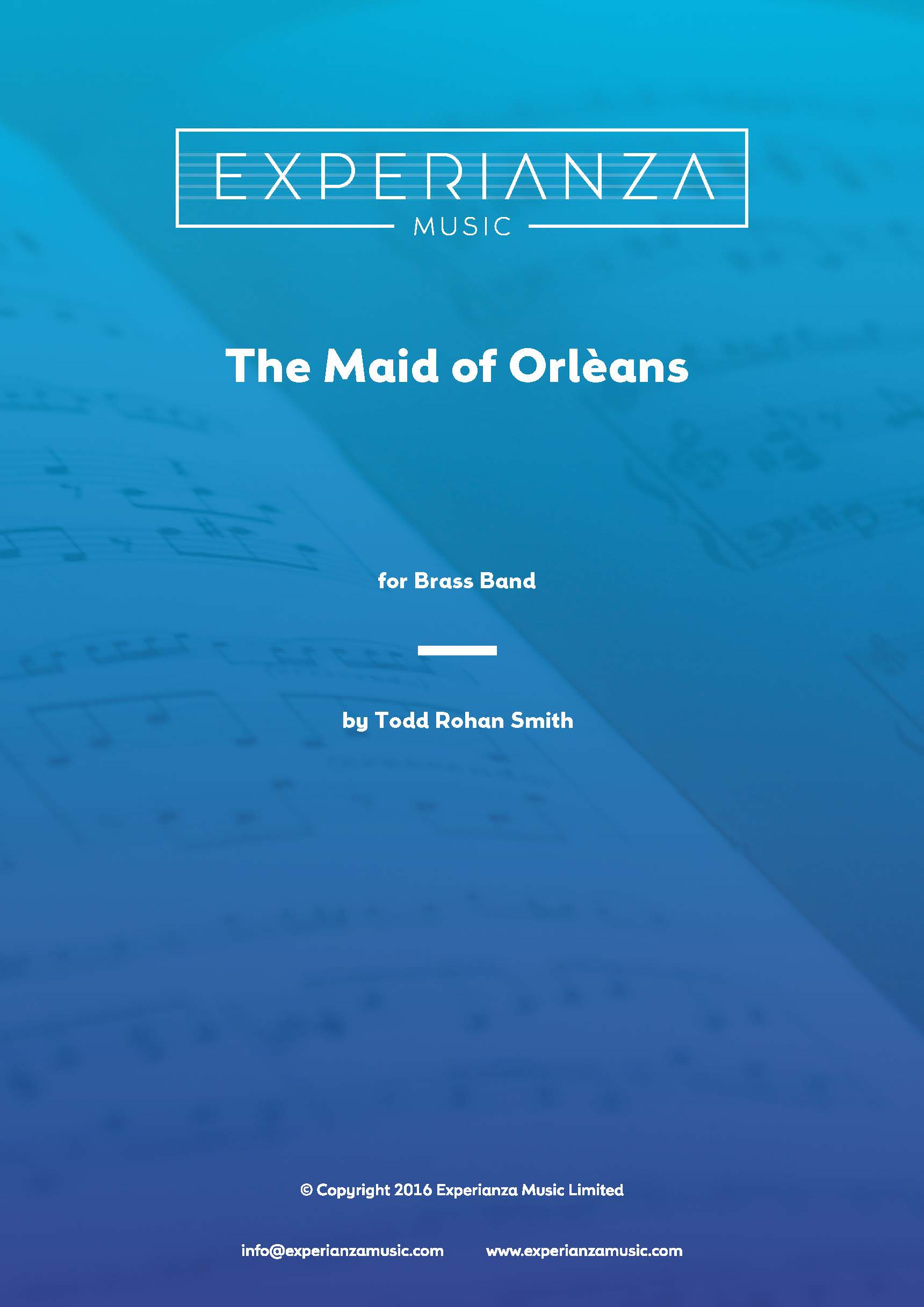 The Maid of Orleans (Brass Band - Score and Parts)