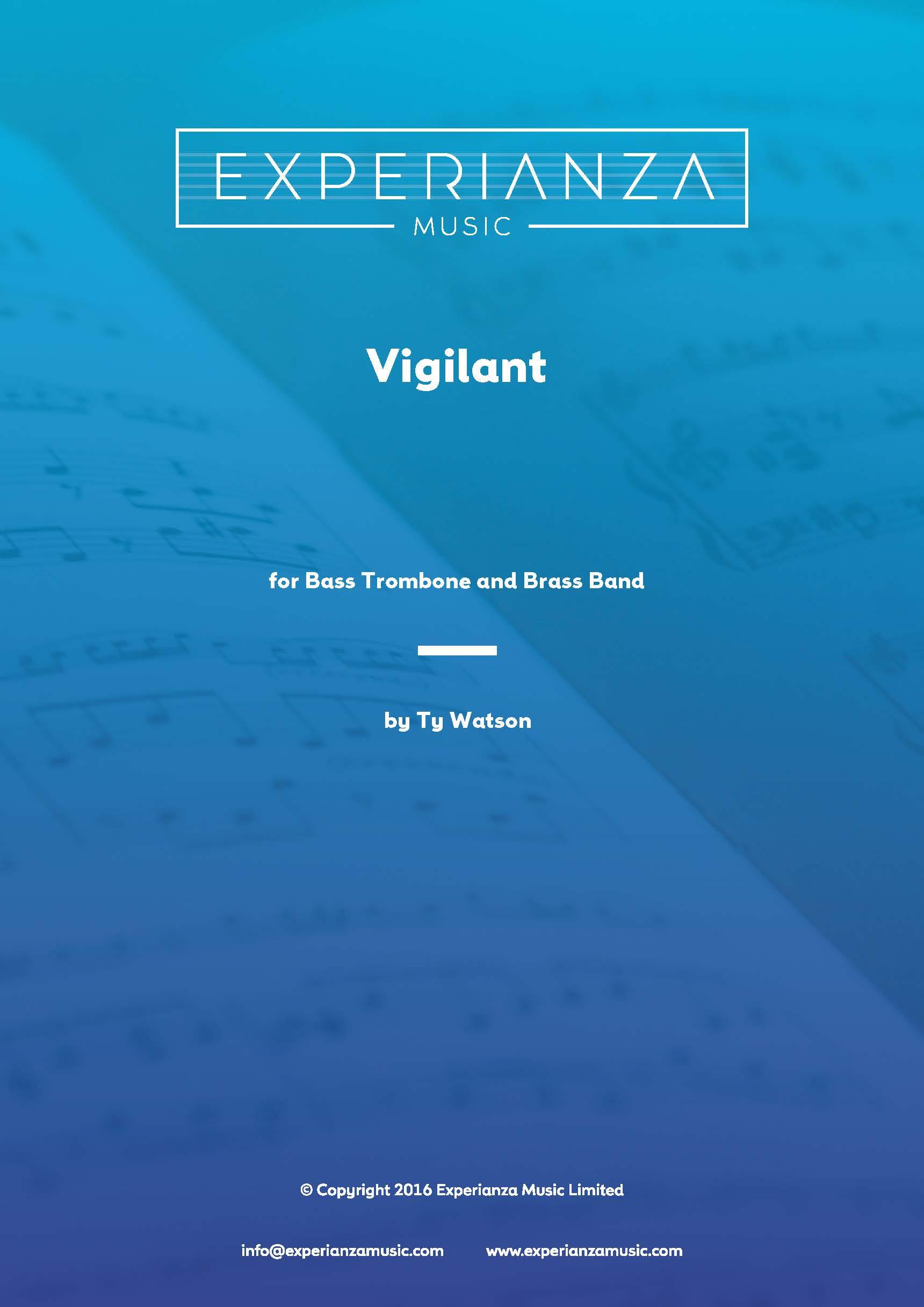 Vigilant (Brass Band - Score and Parts)