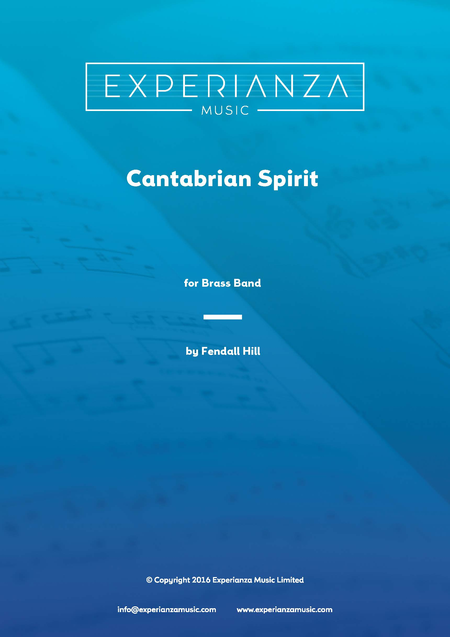 Cantabrian Spirit (Brass Band - Score and Parts)