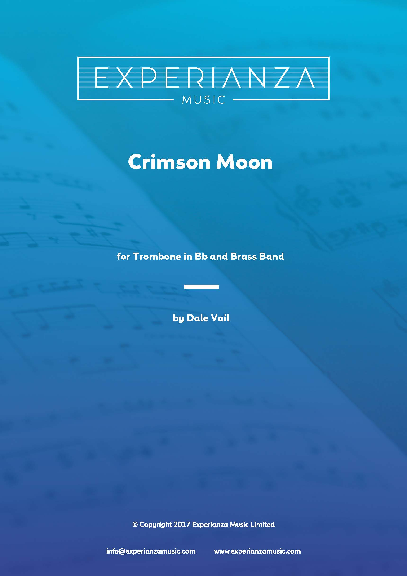 Crimson Moon (Brass Band - Score and Parts)