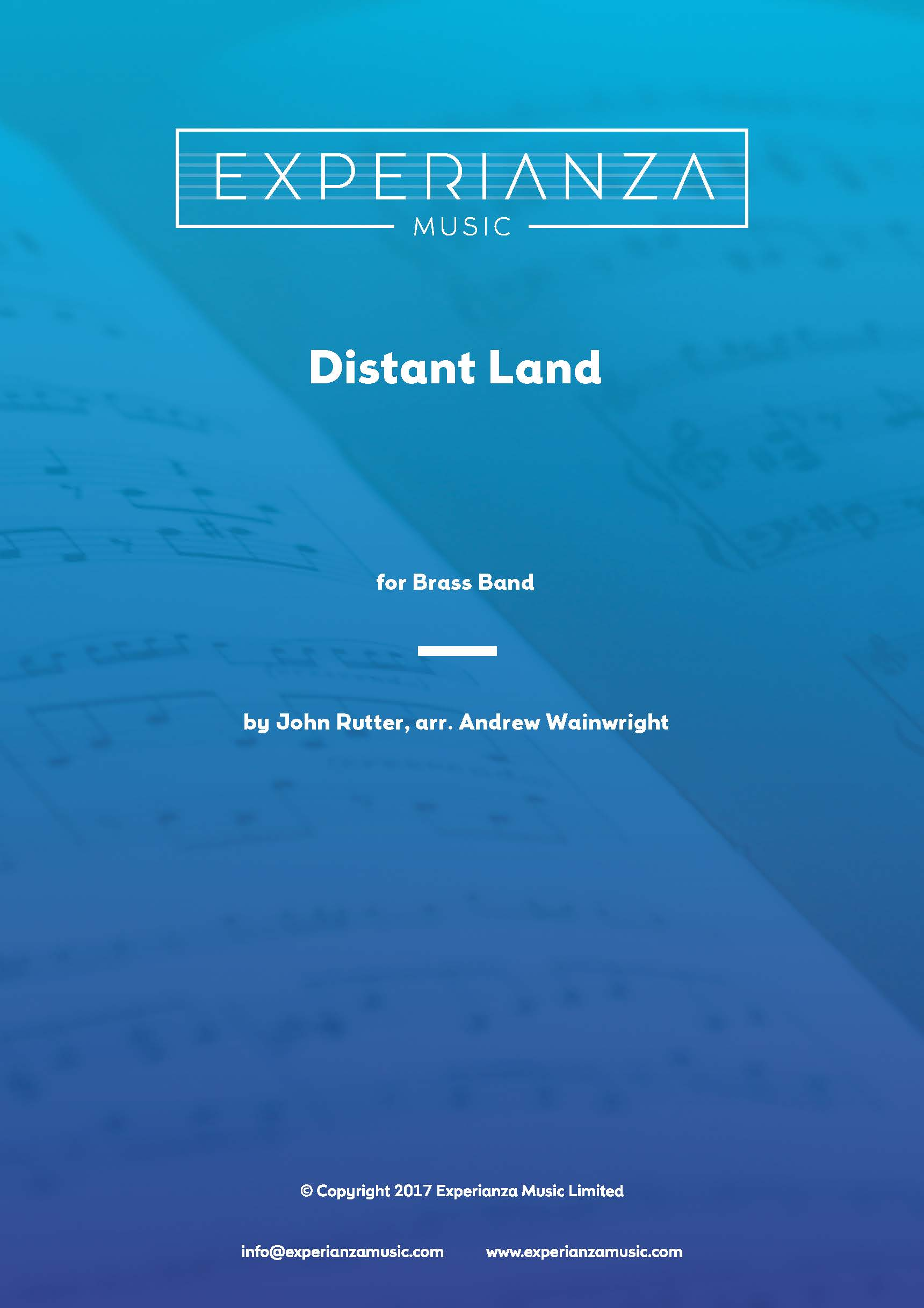 Distant Land (Brass Band - Score and Parts)