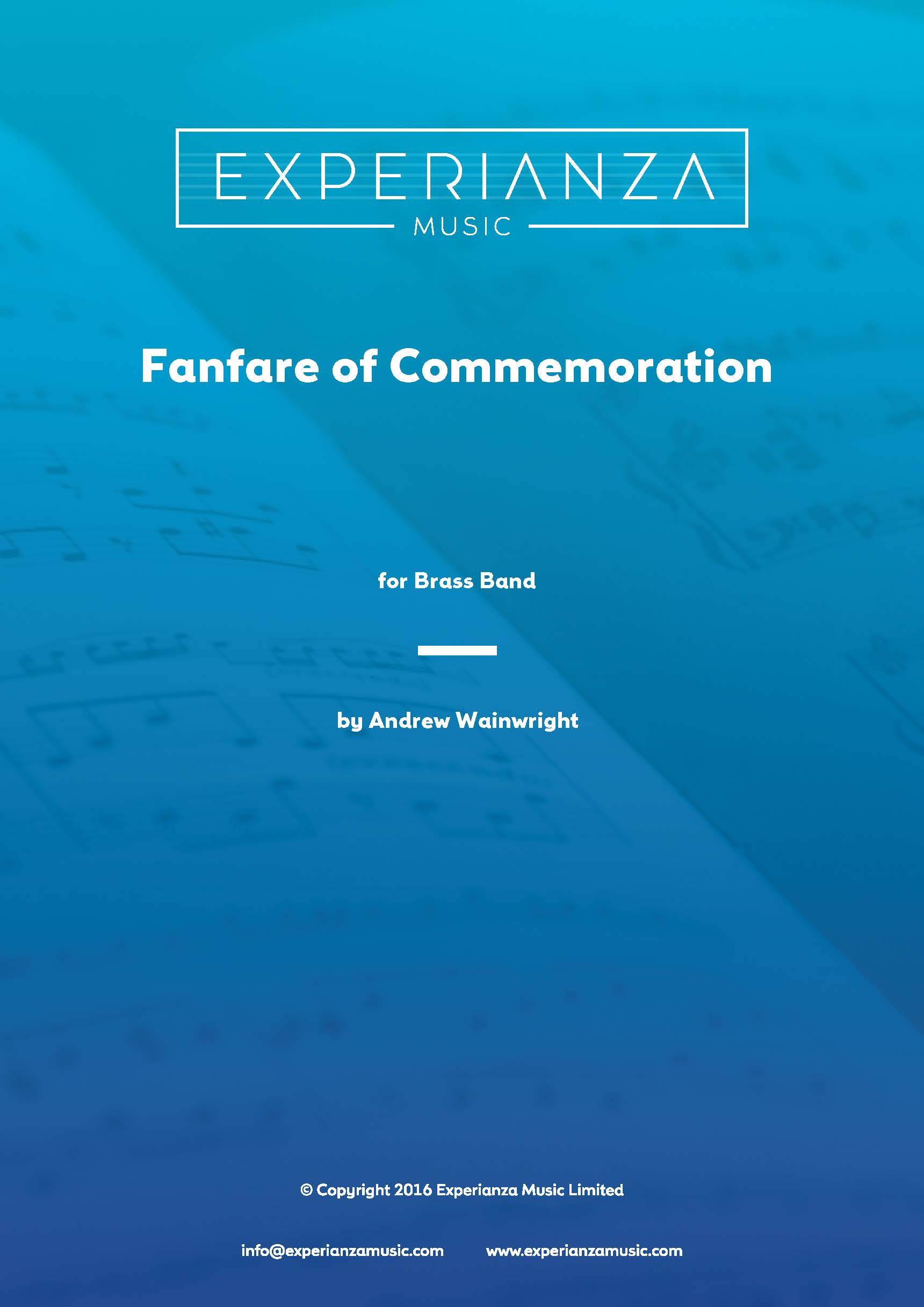 Fanfare of Commemoration (Brass Band - Score and Parts)