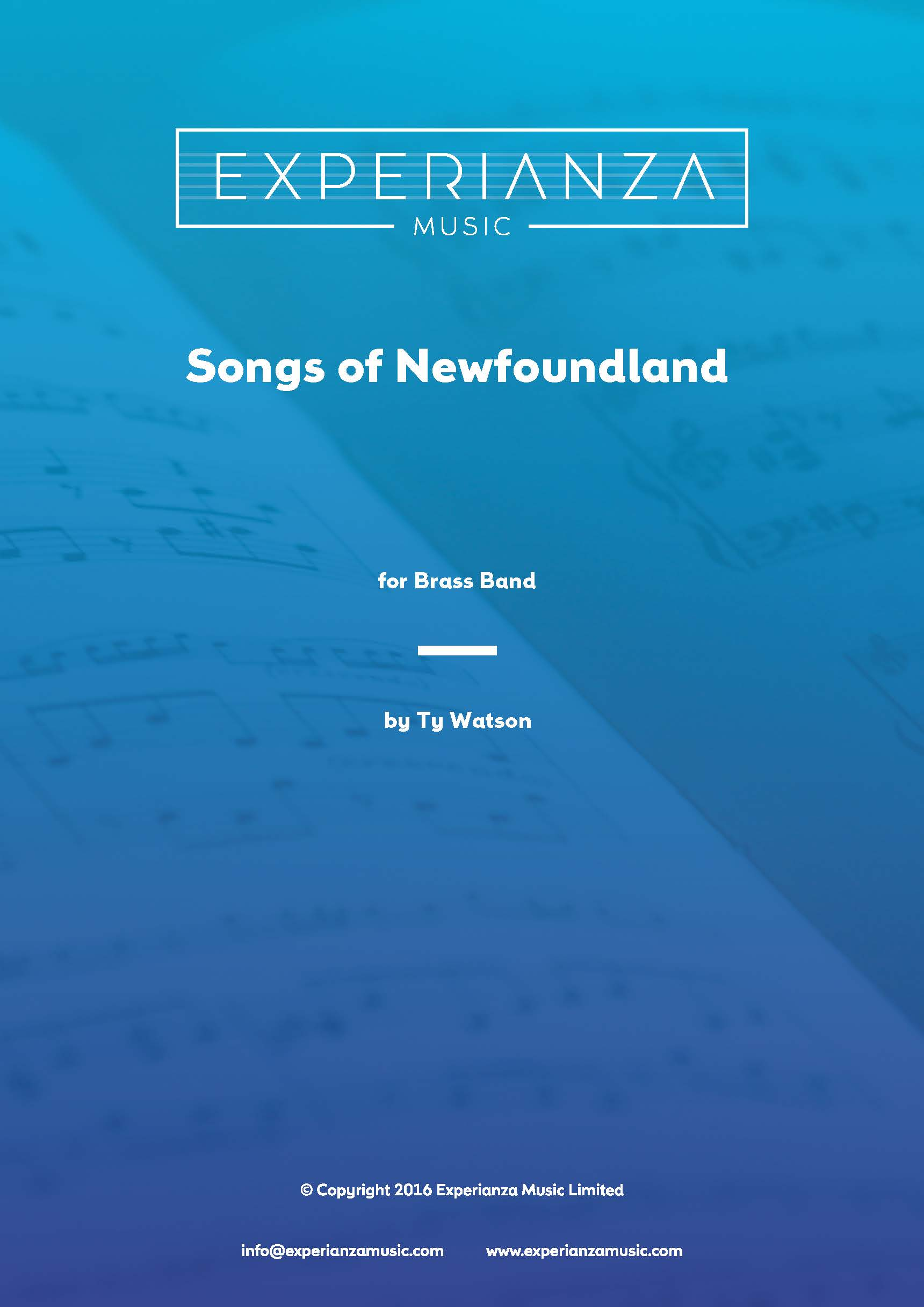 Songs of Newfoundland (Brass Band - Score and Parts)