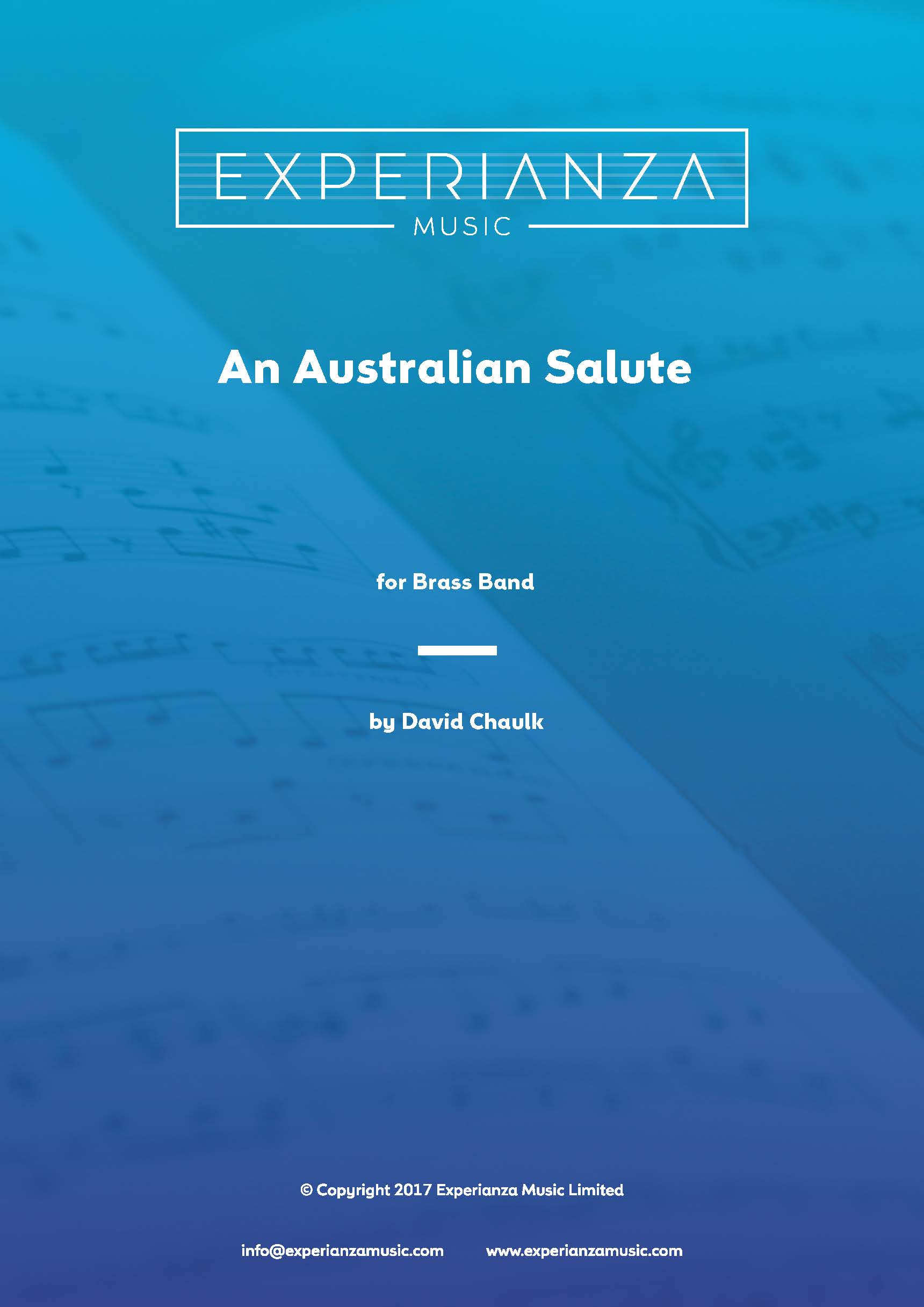 An Australian Salute (Brass Band - Score and Parts)