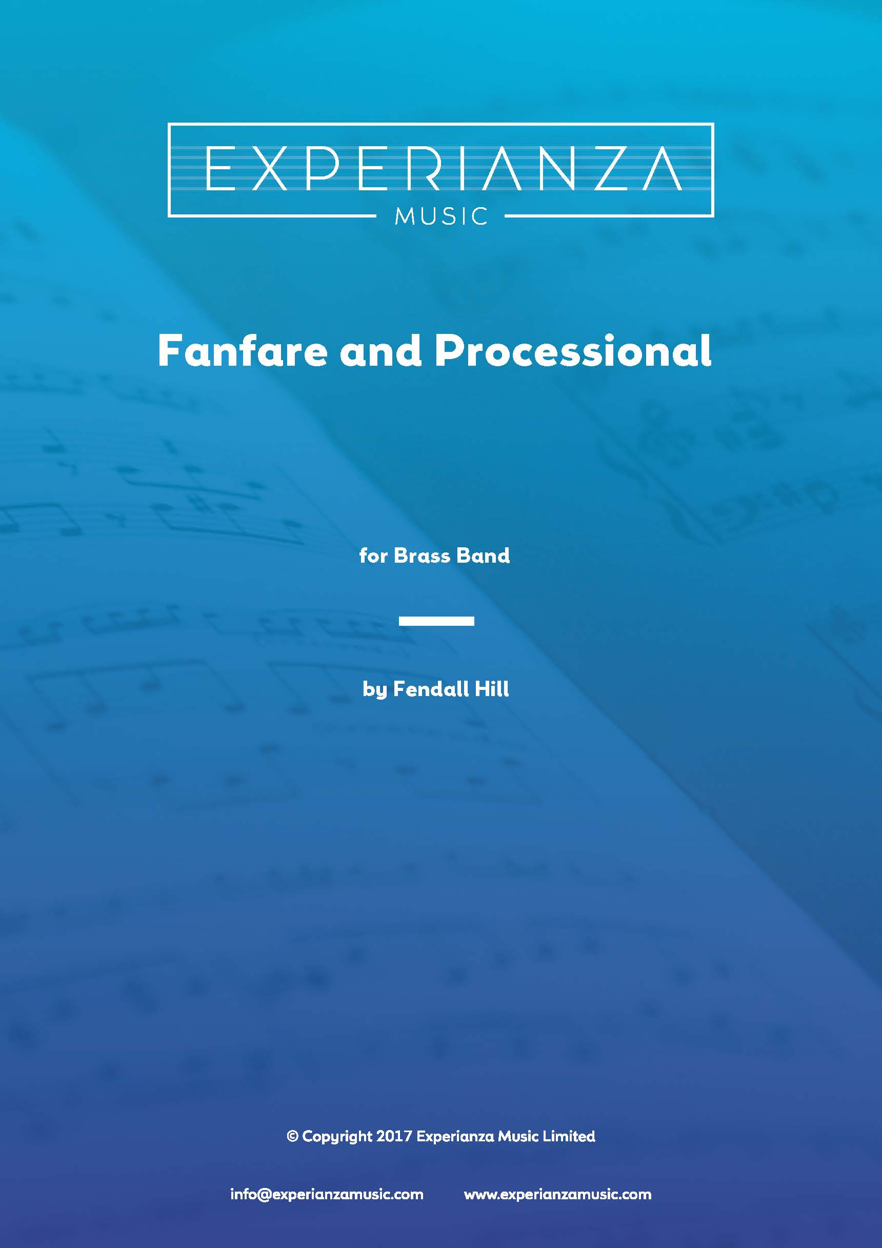 Fanfare and Processional (Brass Band - Score and Parts)