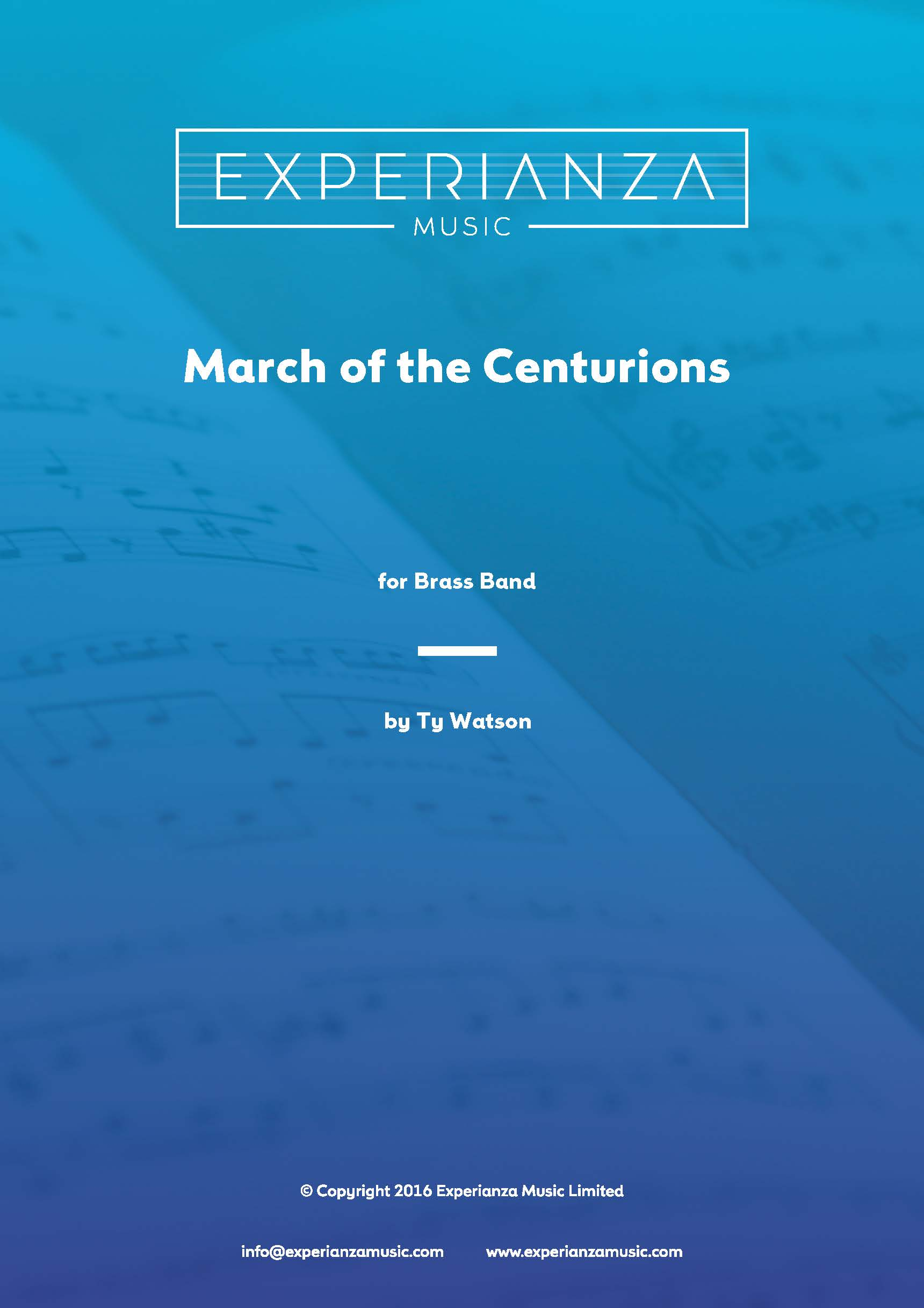 March of the Centurions (Brass Band - Score and Parts)