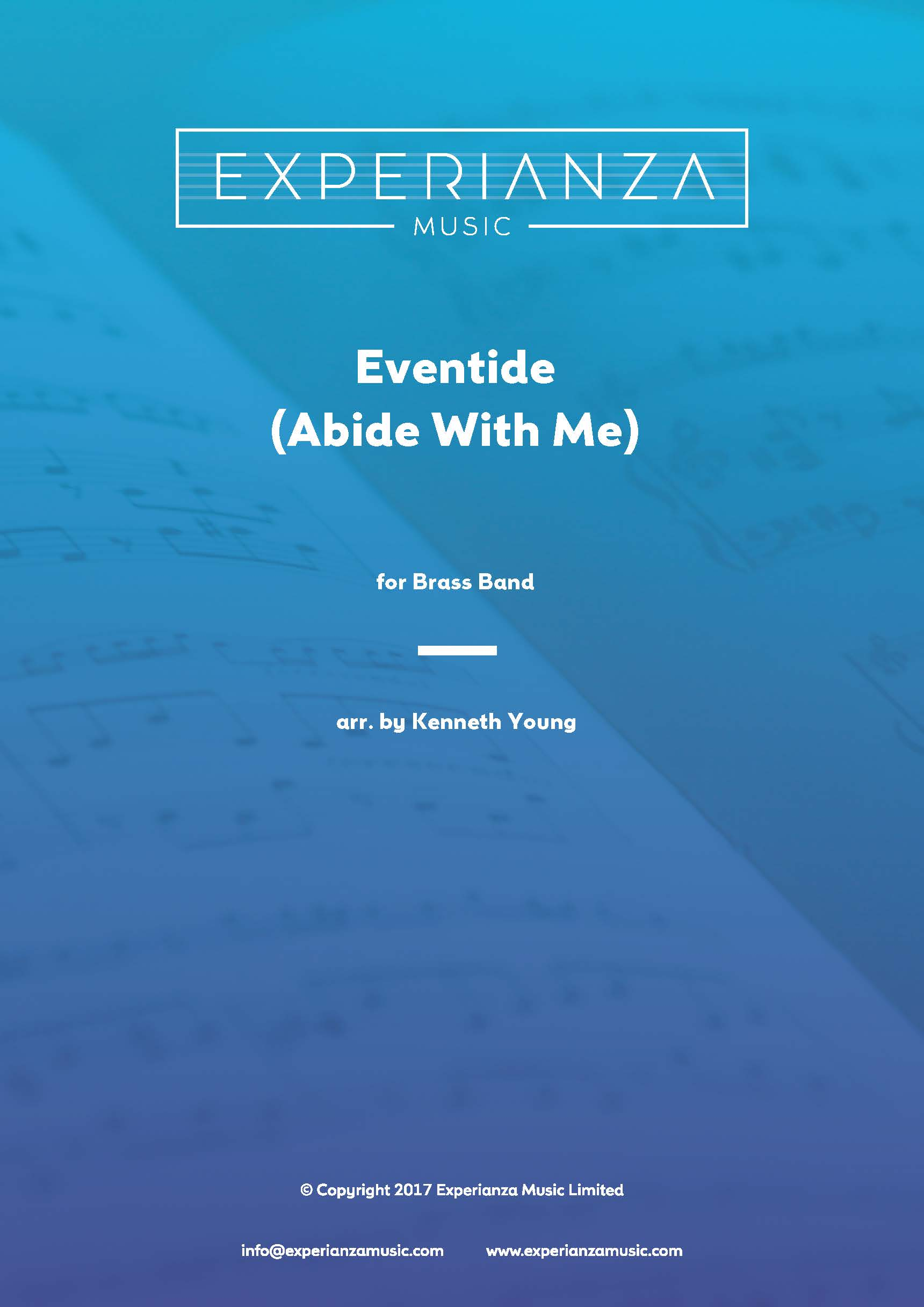 Eventide (Abide With Me) (Brass Band - Score and Parts)