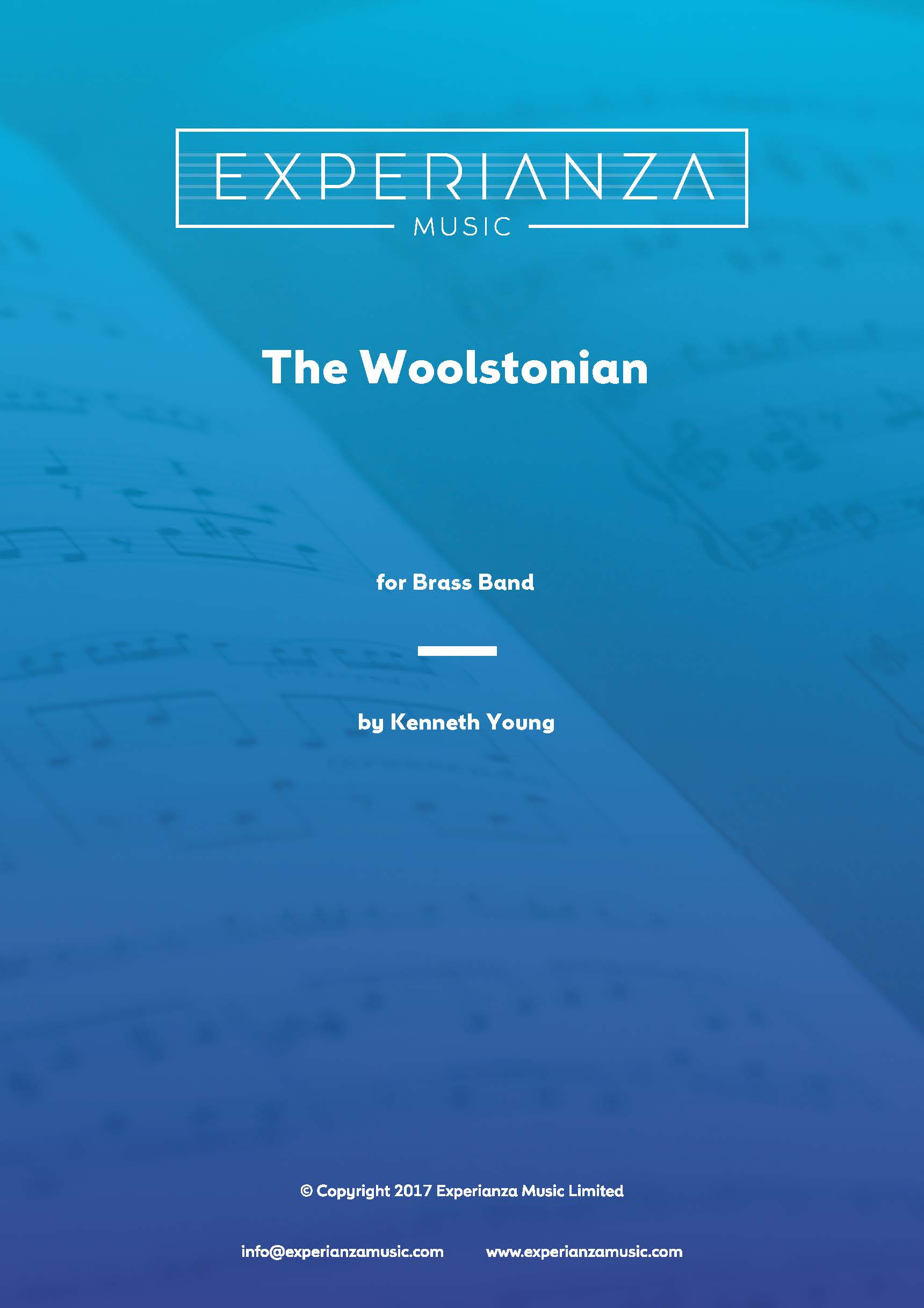 The Woolstonian (Brass Band - Score and Parts)