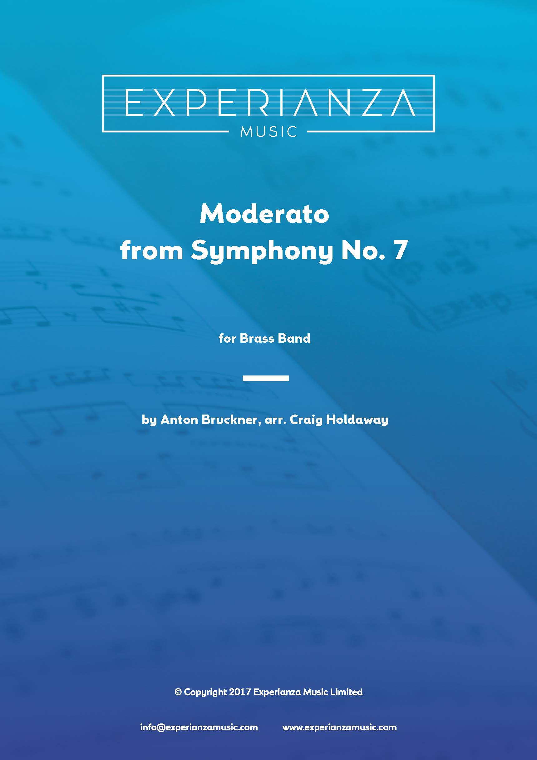 Moderato from Symphony No. 7 (Brass Band - Score and Parts)