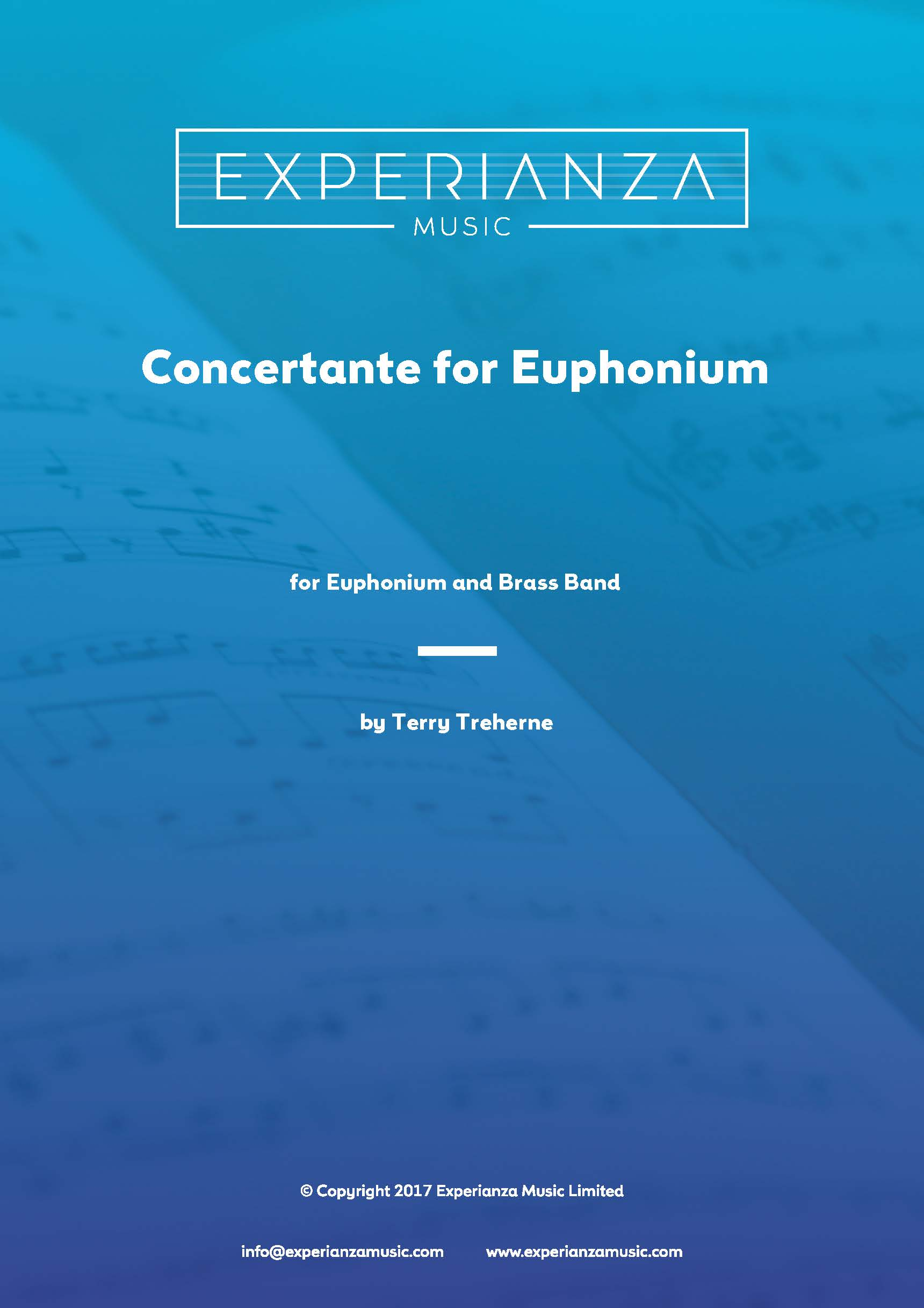 Concertante for Euphonium (Brass Band - Score and Parts)