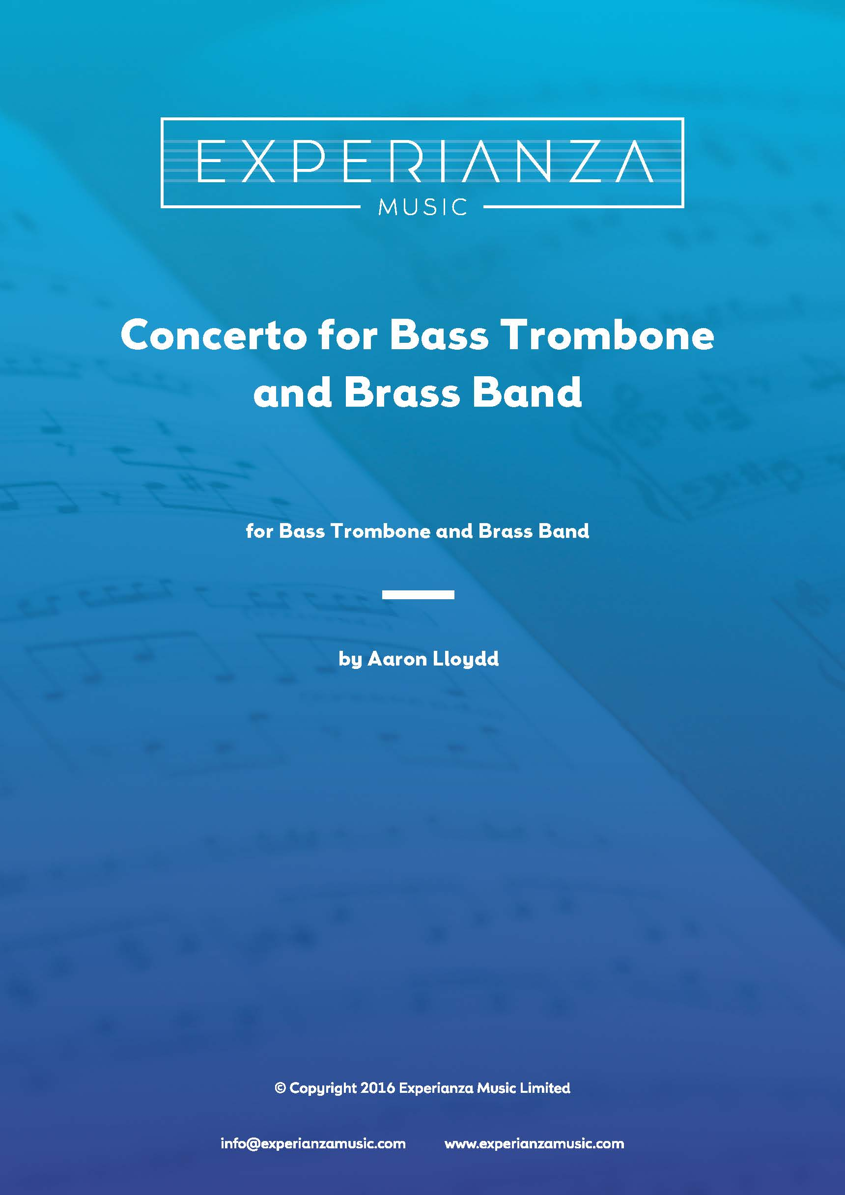 Concerto for Bass Trombone (Brass Band - Score and Parts)