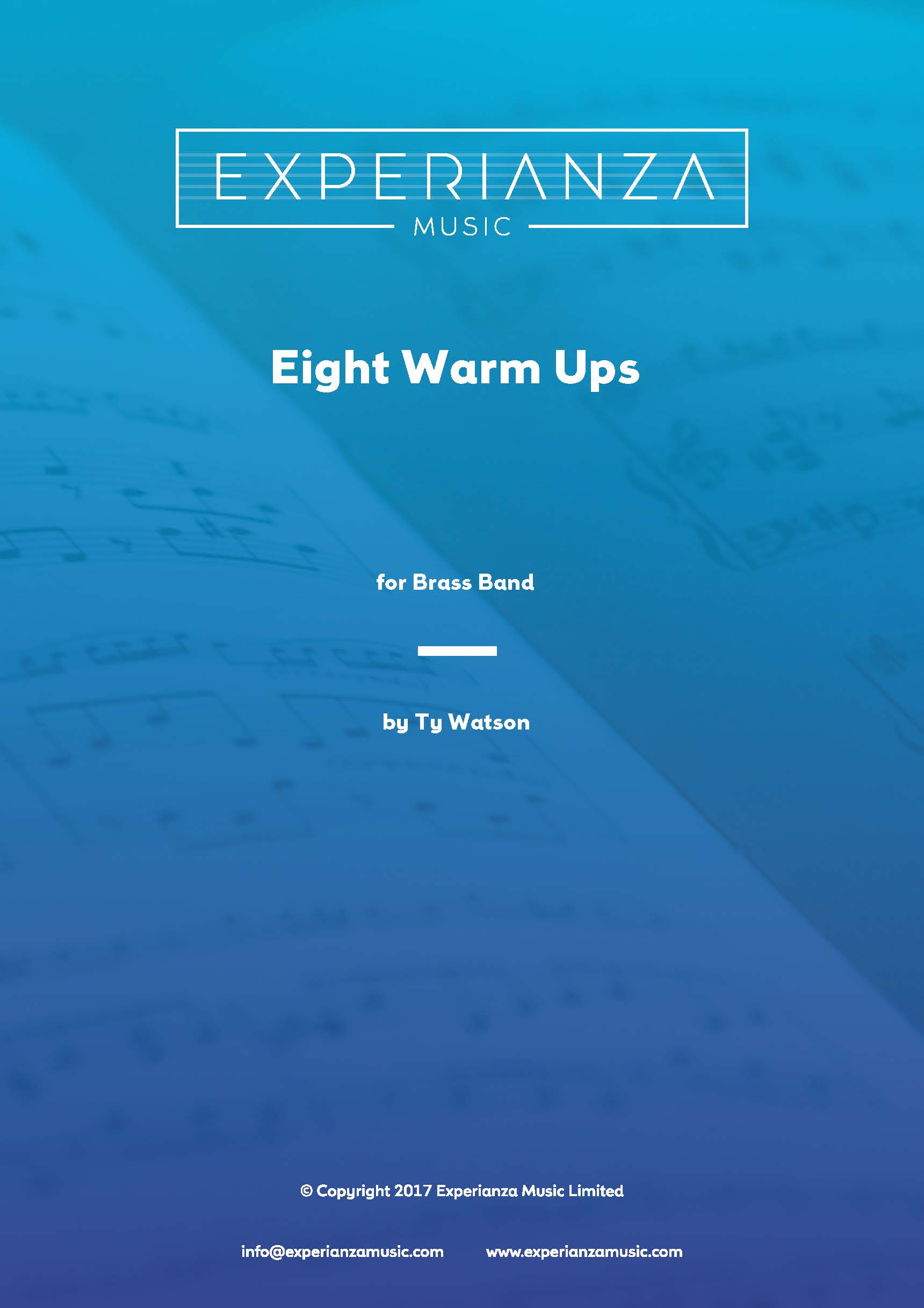 Eight Warm Ups for Brass Band (Brass Band - Score and Parts)