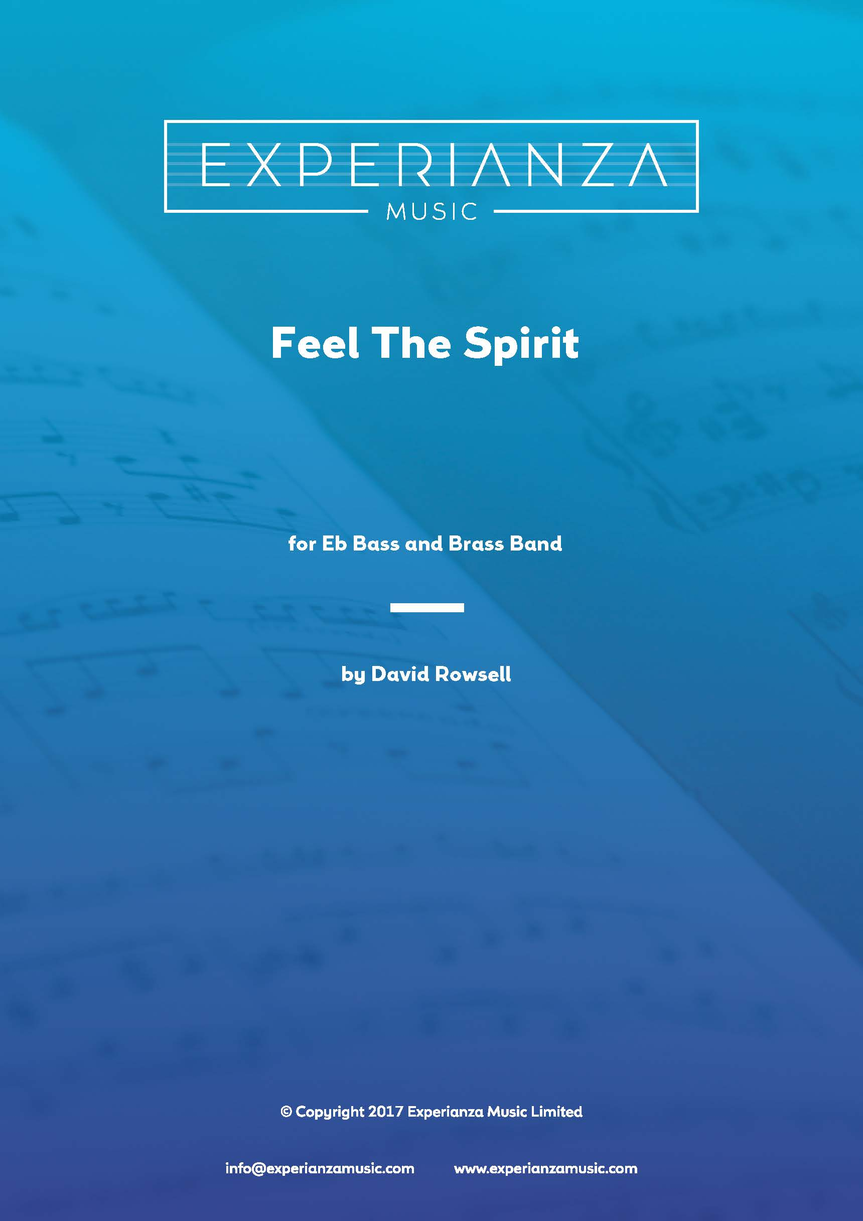 Feel the Spirit (Brass Band - Score and Parts)