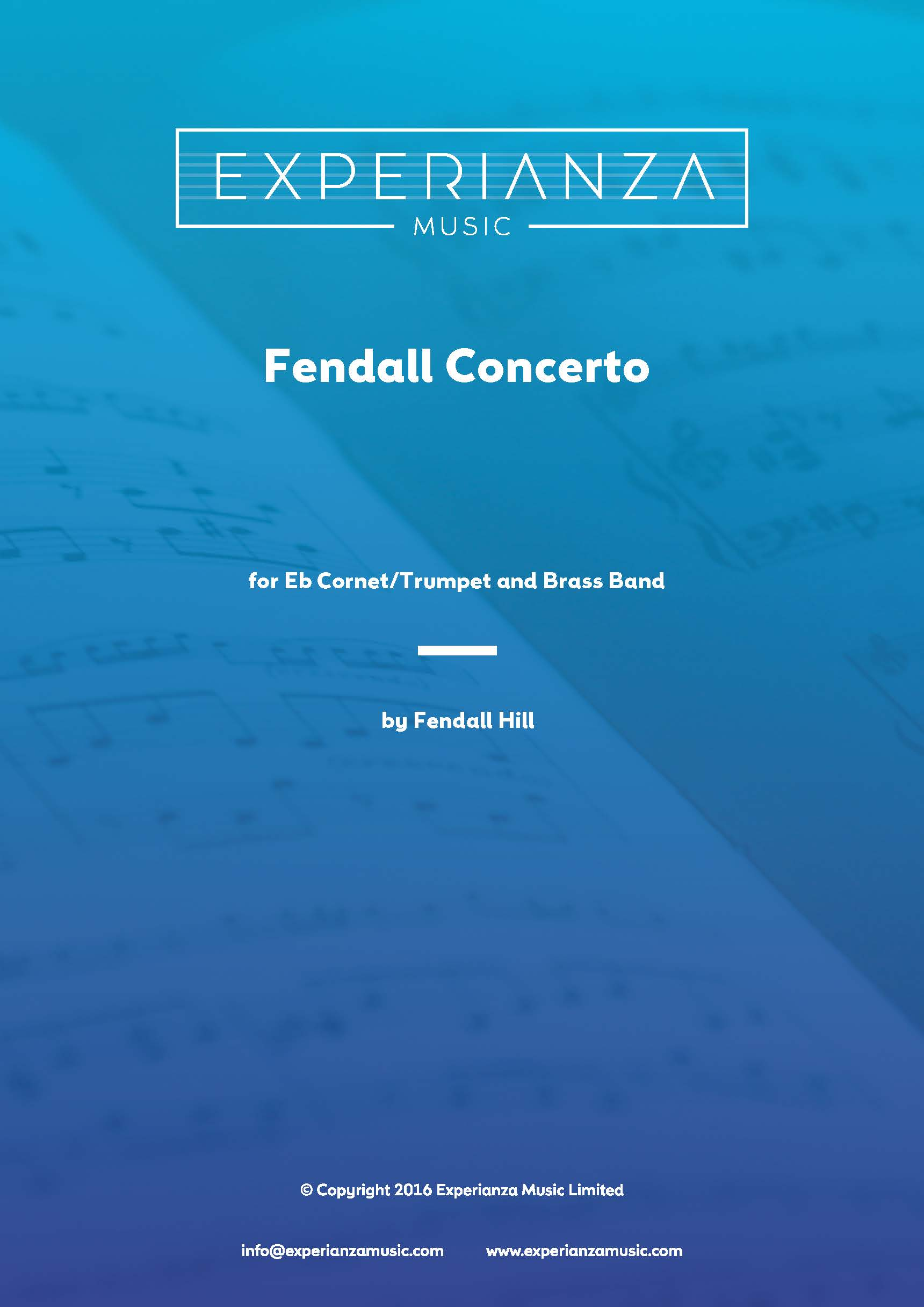 Fendall Concerto (Brass Band - Score and Parts)