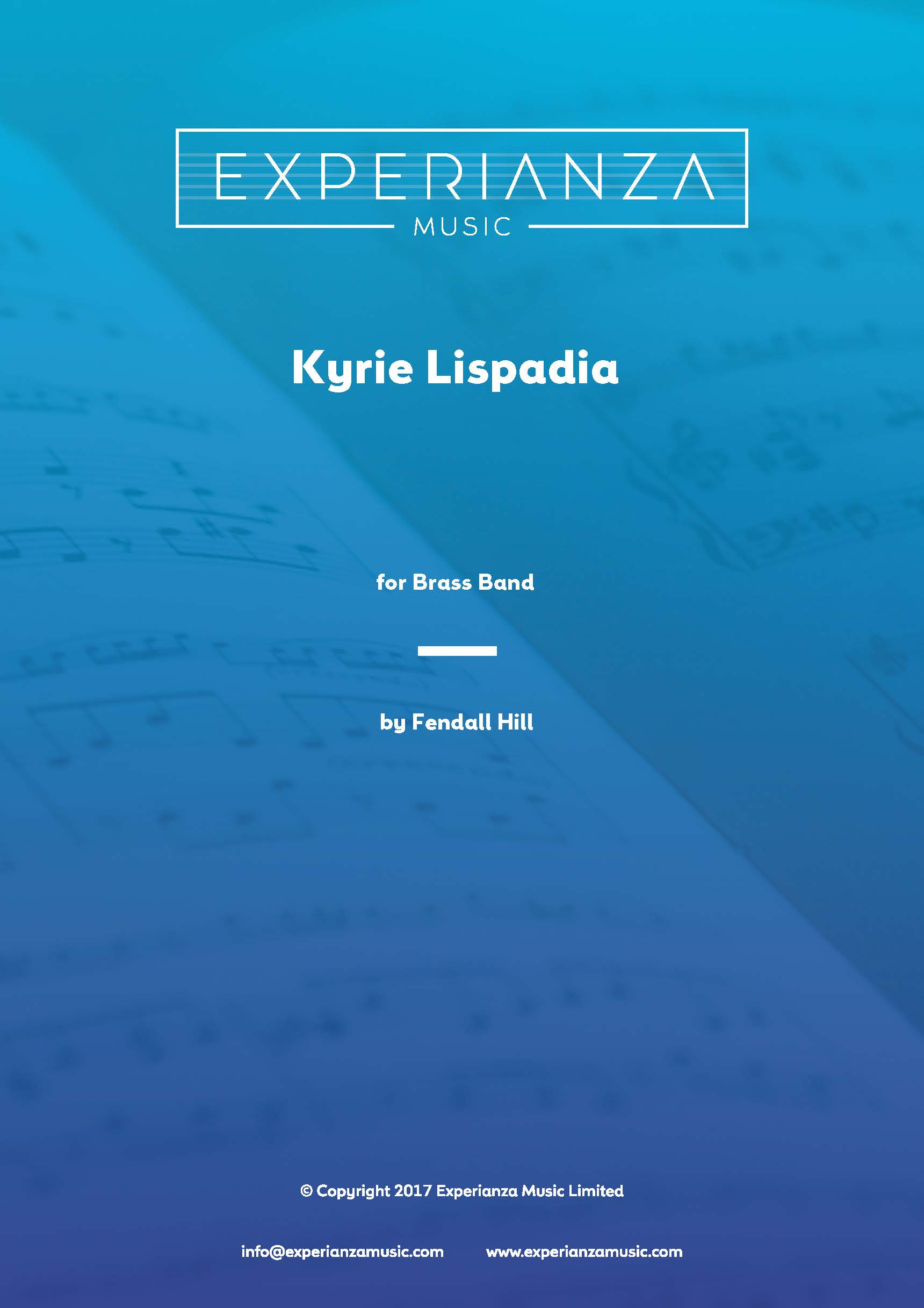 Kyrie Lispadia (Brass Band - Score and Parts)