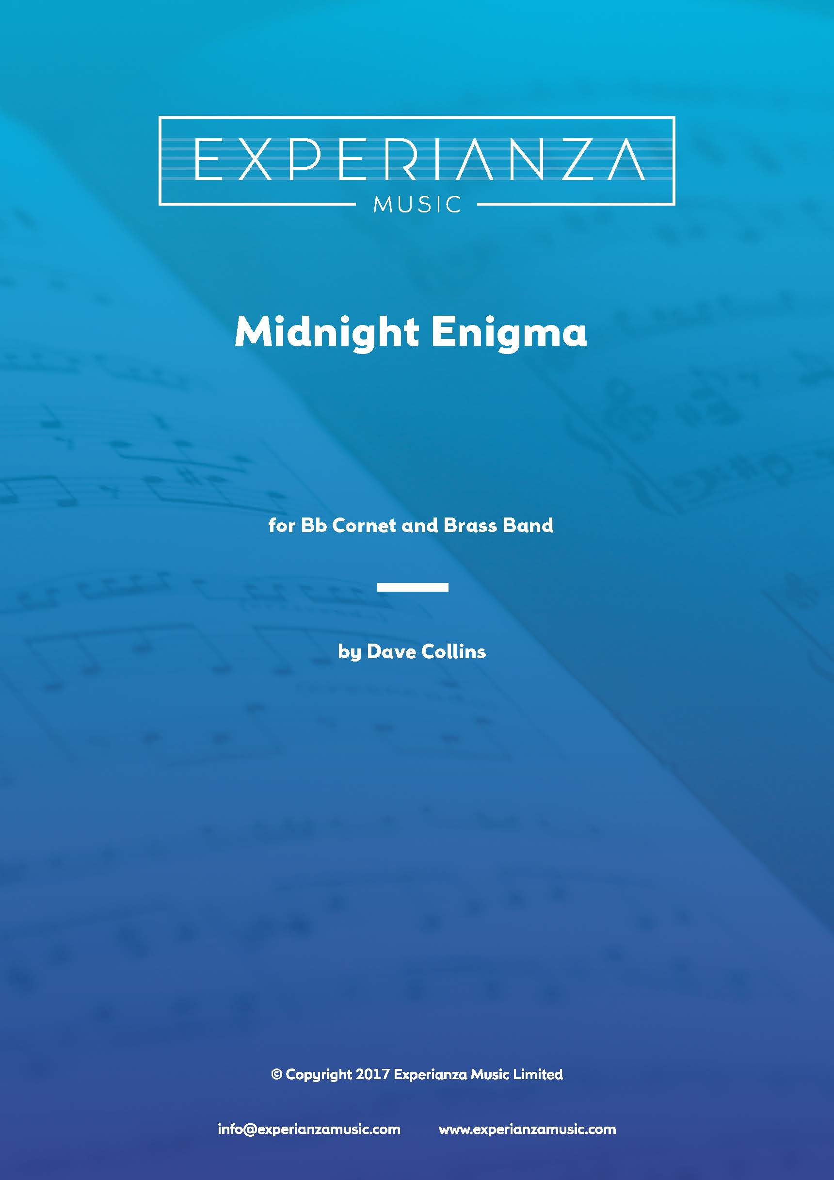Midnight Enigma (Brass Band - Score and Parts)
