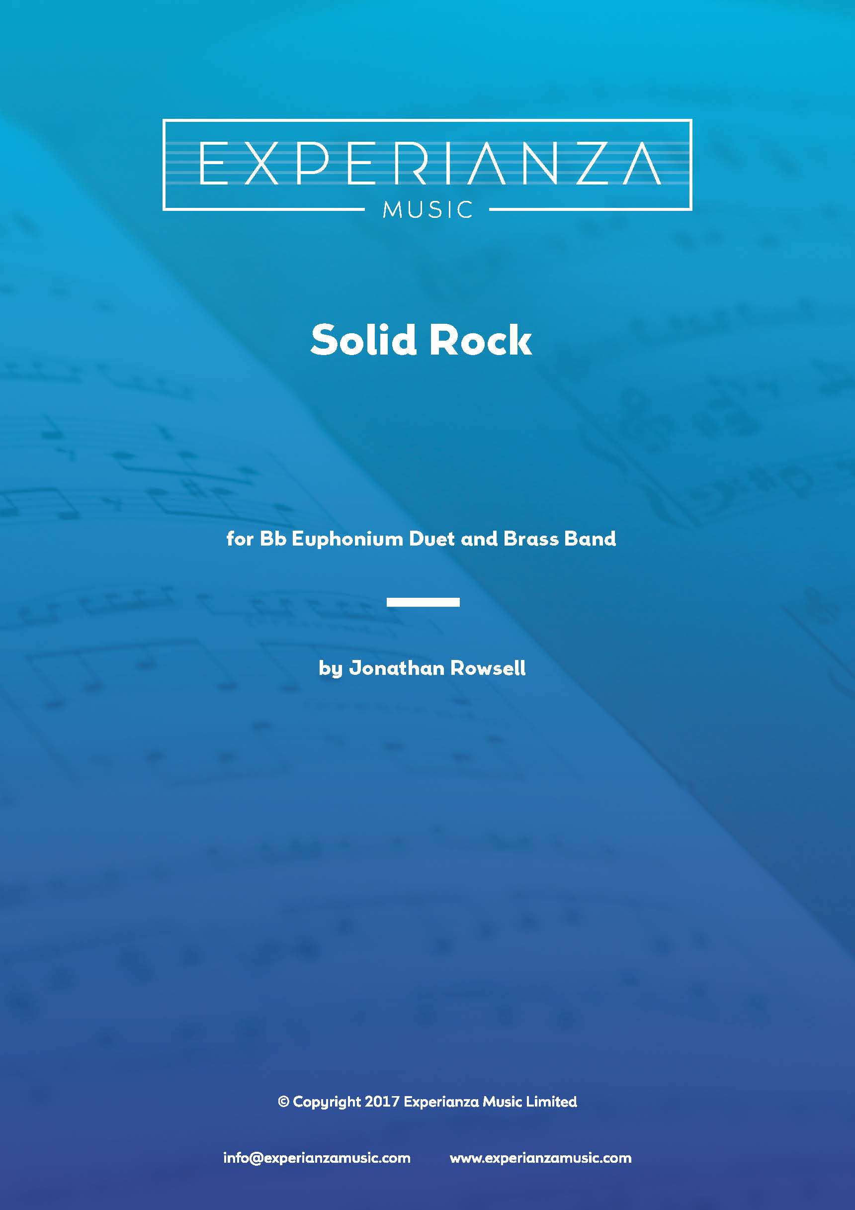 Solid Rock (Brass Band - Score and Parts)