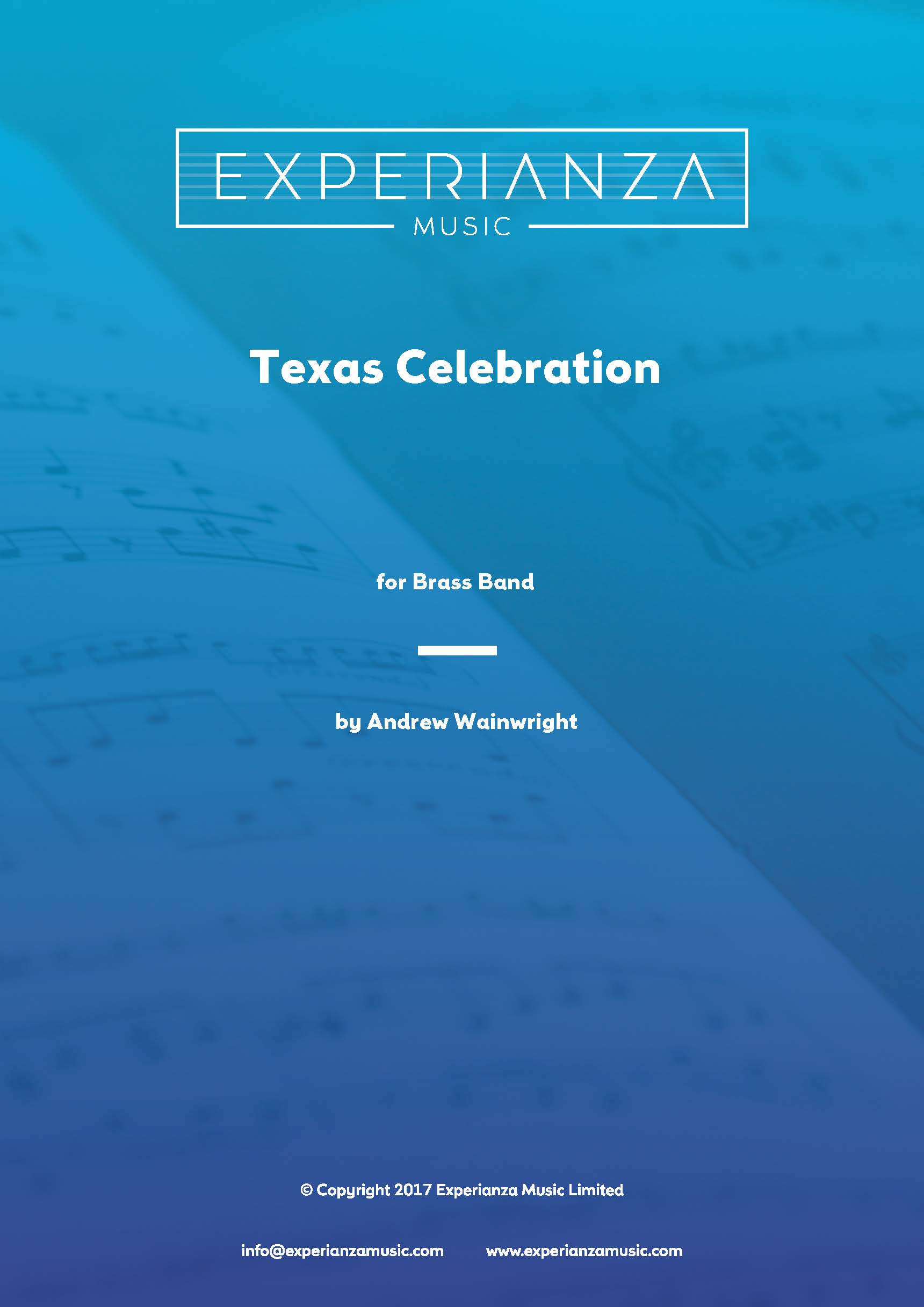 Texas Celebration (Brass Band - Score and Parts)