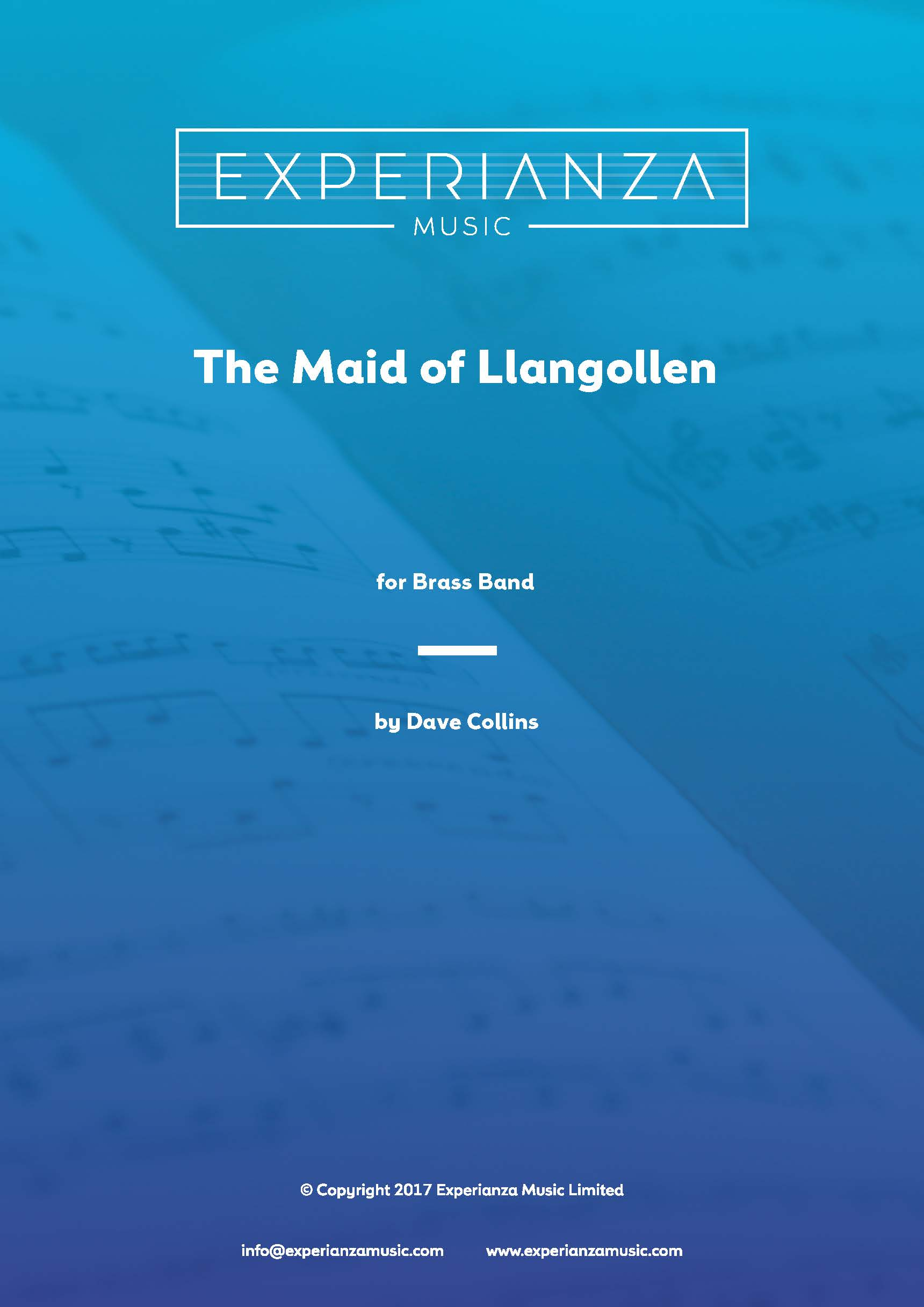 The Maid of Llangollen (Brass Band - Score and Parts)