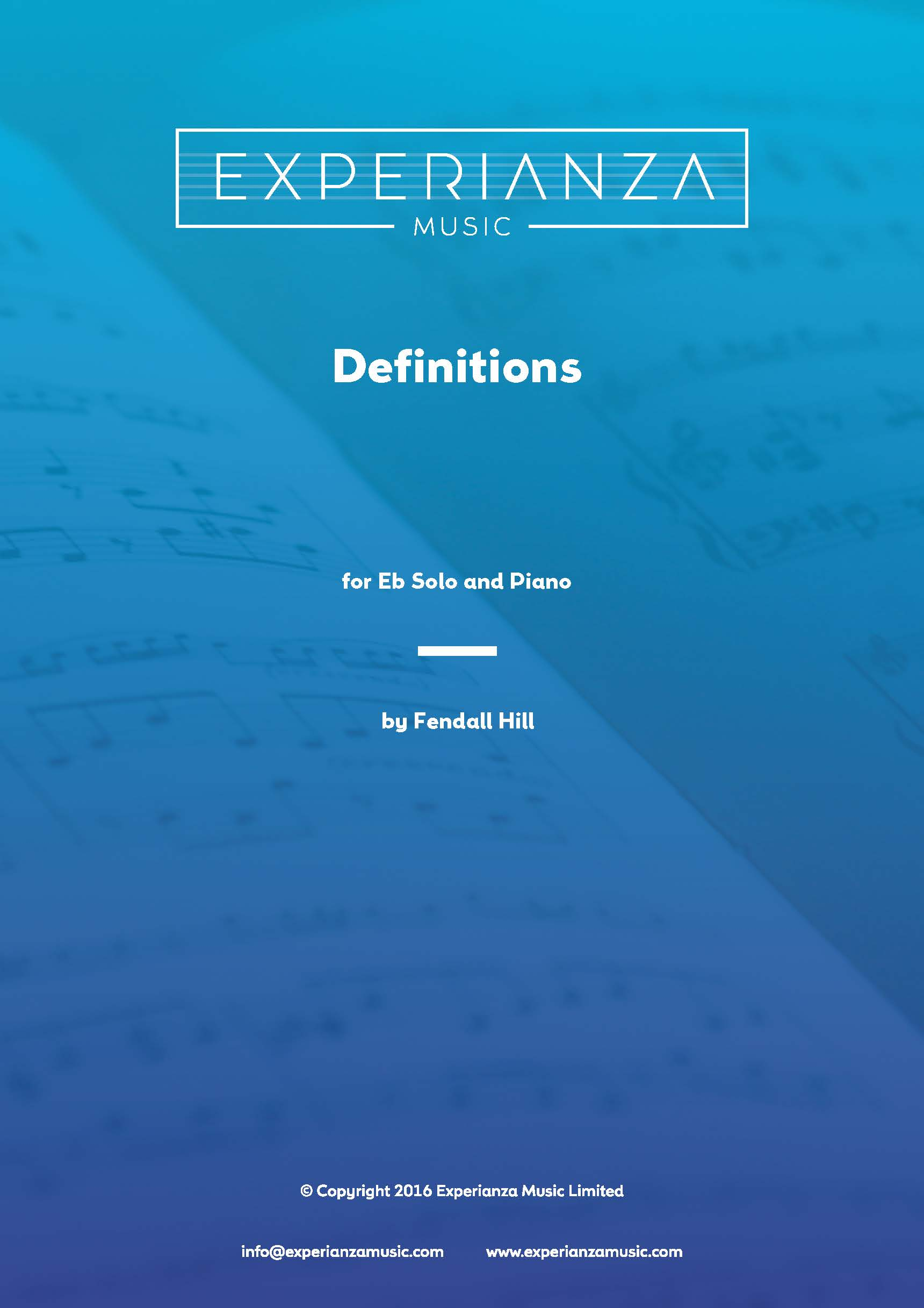 Definitions (Brass Band - Score and Parts)
