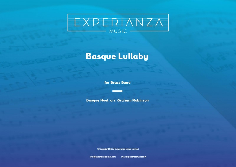 Basque Lullaby (Brass Band - Score and Parts)