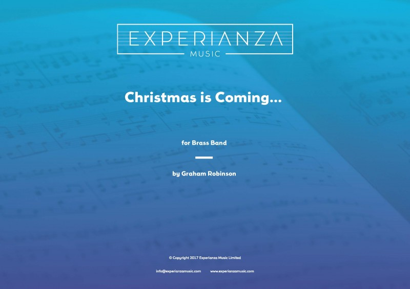 Christmas is Coming (Brass Band - Score and Parts)
