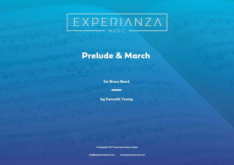Prelude and March (Brass Band - Score and Parts)