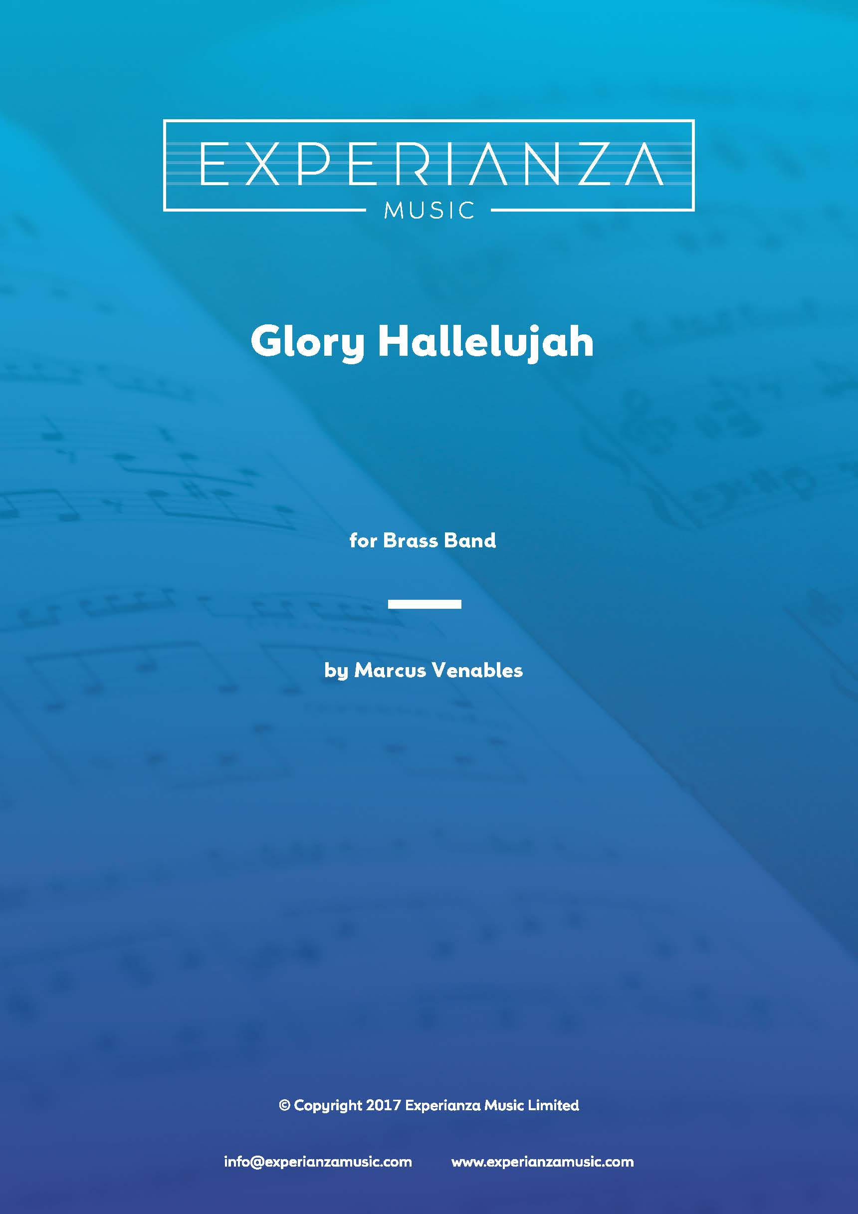 Glory Hallelujah (Brass Band - Score and Parts)