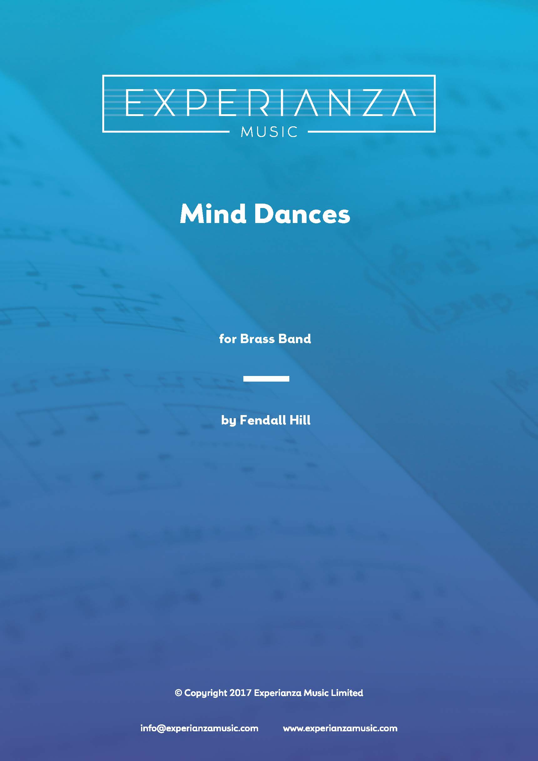 Mind Dances (Brass Band - Score and Parts)