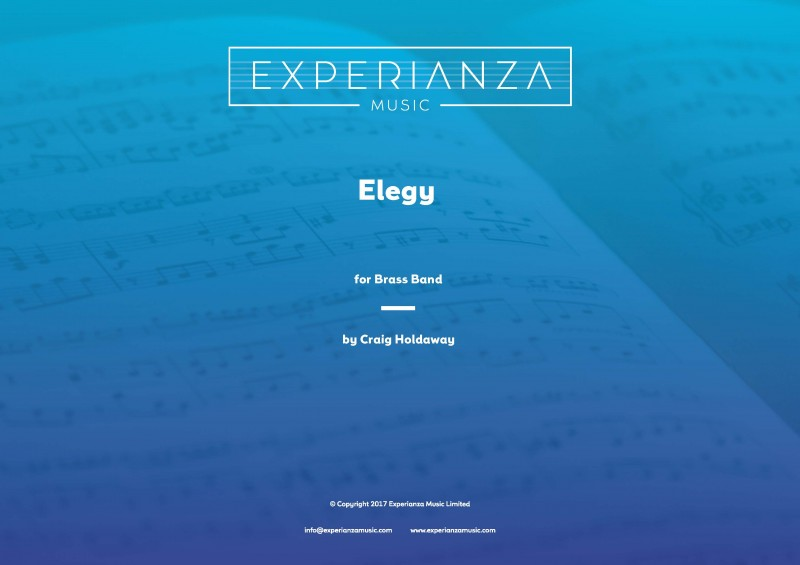 Elegy (Brass Band - Score and Parts)