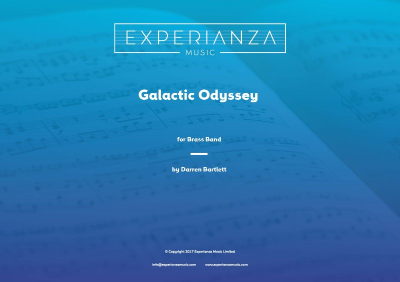 Galactic Odyssey (Brass Band - Score and Parts)