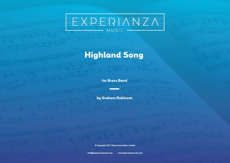 Highland Song (Brass Band - Score and Parts)