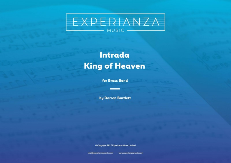 Intrada - King of Heaven (Brass Band - Score and Parts)