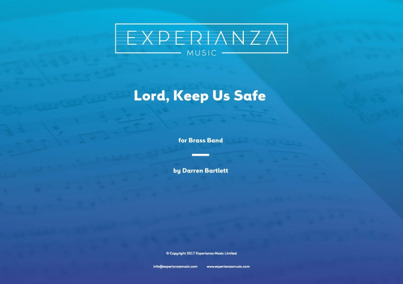 Lord, Keep Us Safe (Brass Band - Score and Parts)