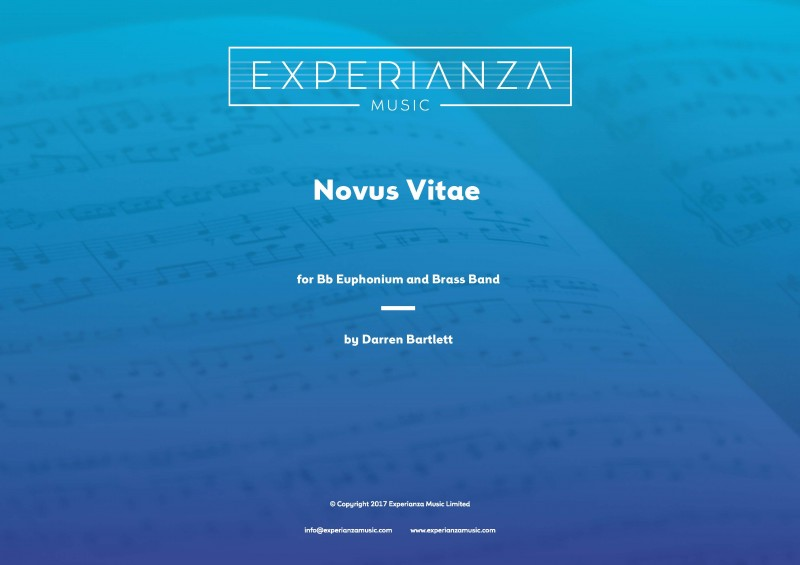 Novus Vitae (Brass Band - Score and Parts)