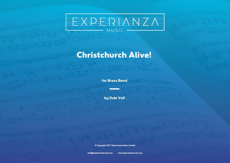 Christchurch Alive! (Brass Band - Score and Parts)