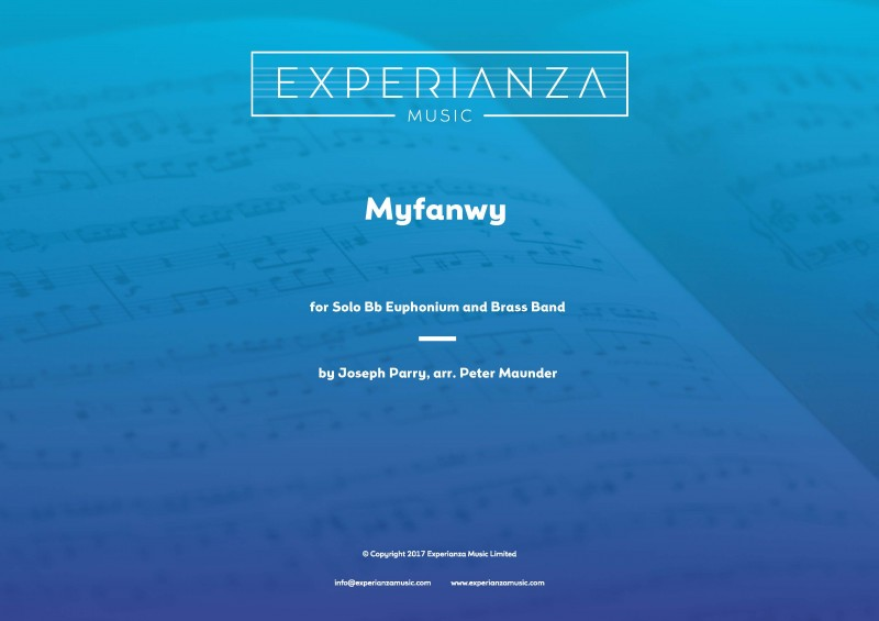 Myfanwy (Brass Band - Score and Parts)