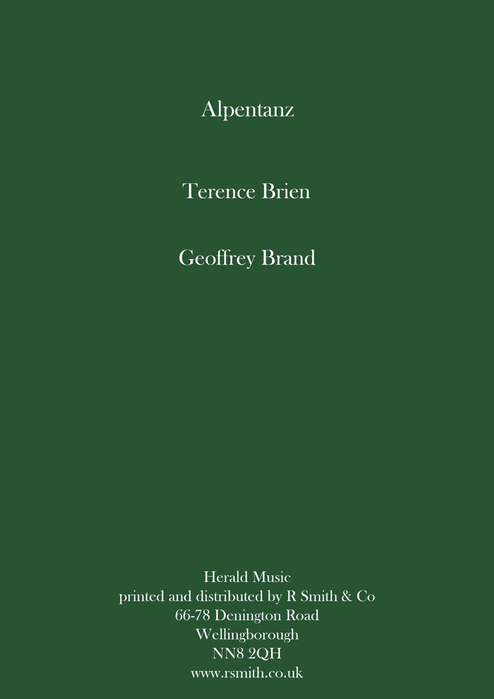 Alpentanz (Brass Band - Score and Parts)