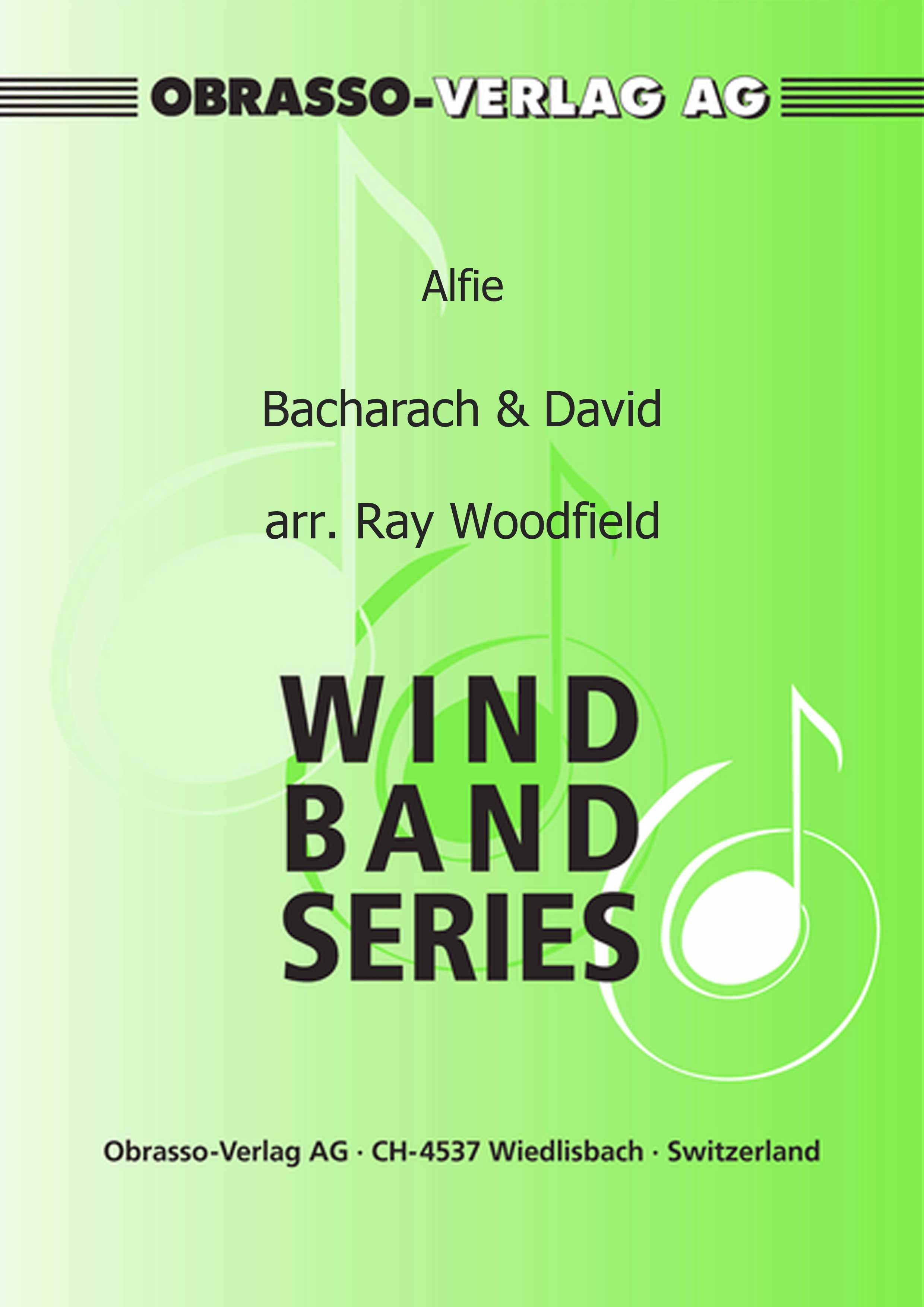 Alfie (Trombone Solo with Concert Band - Score and Parts)