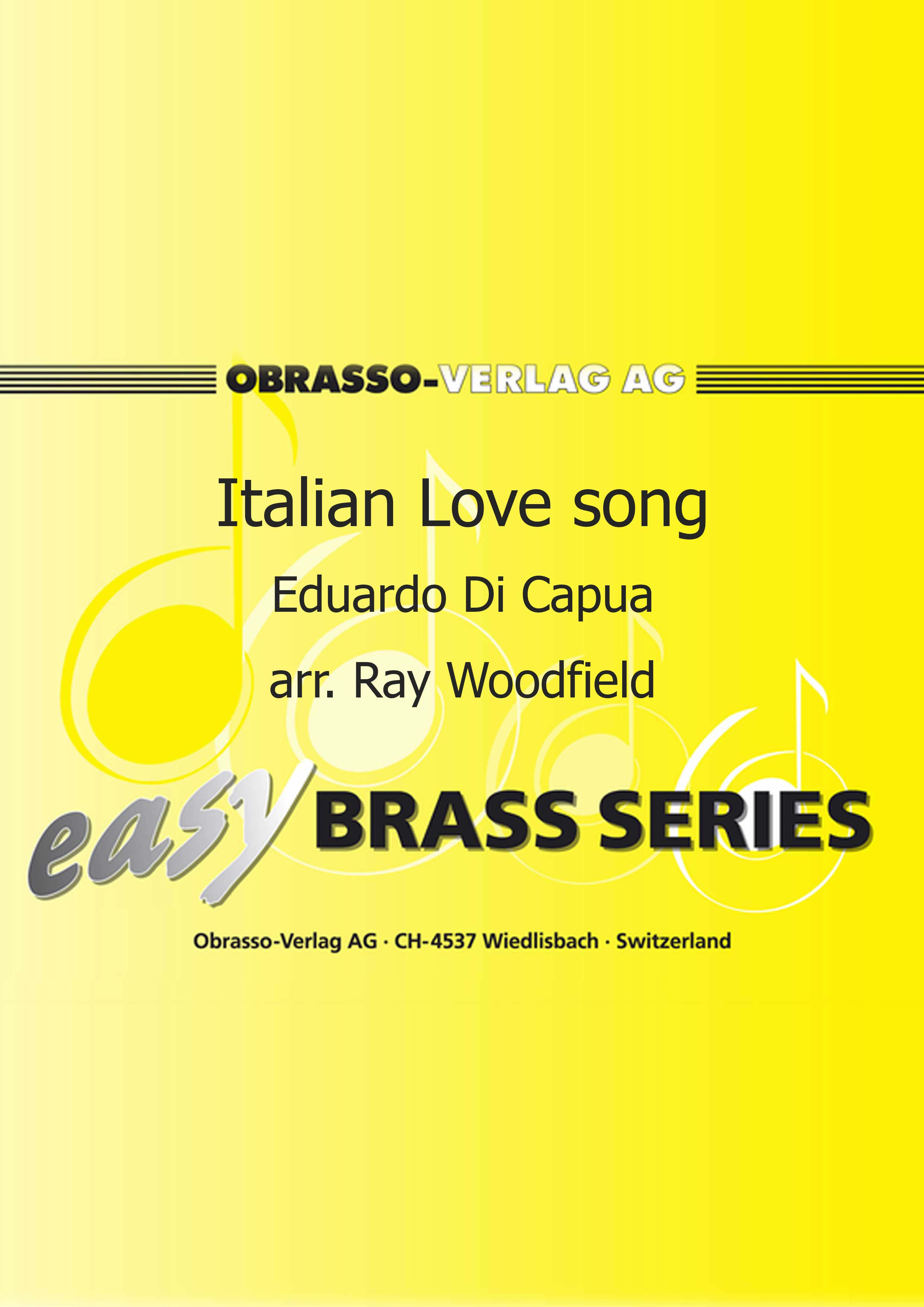 Italian Love Song (Easy Brass Band - Score and Parts)