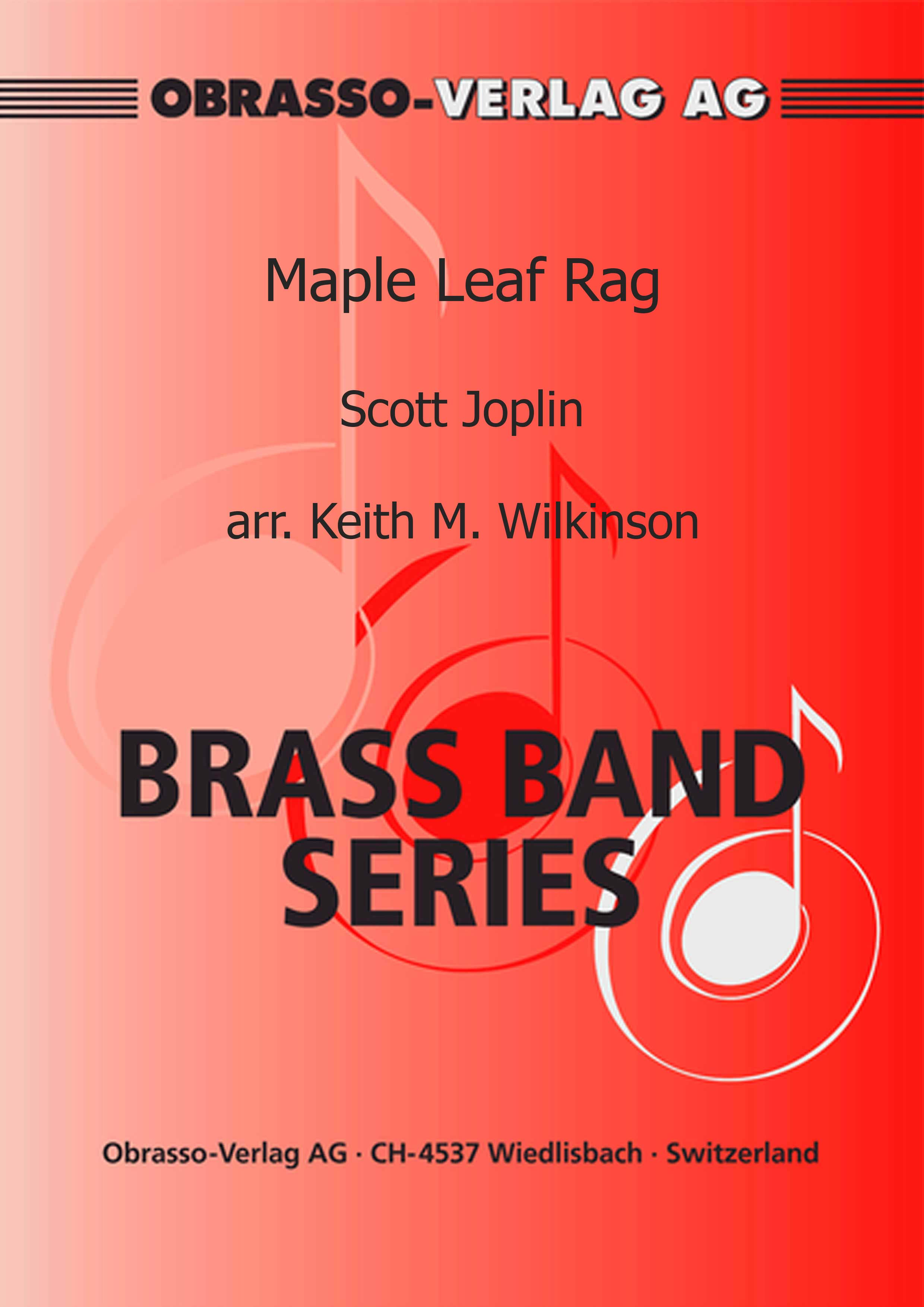 Maple Leaf Rag (Brass Band - Score and Parts)