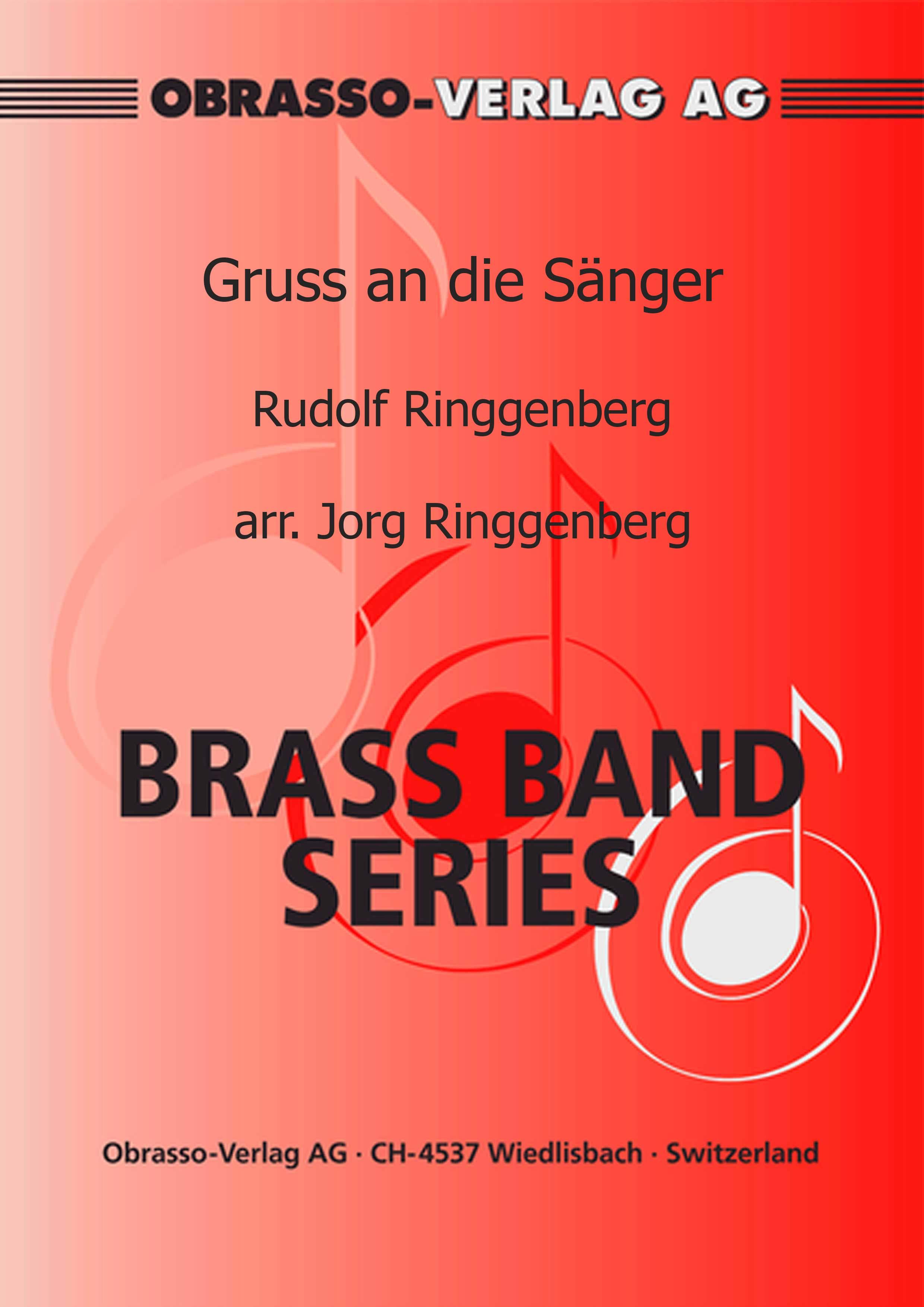Gruss an die Sänger (Brass Band - Score and Parts)