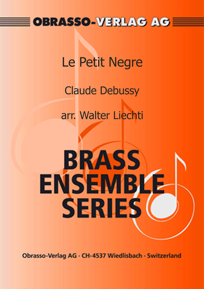 Le Petit Negre (Brass Sextet - Score and Parts)