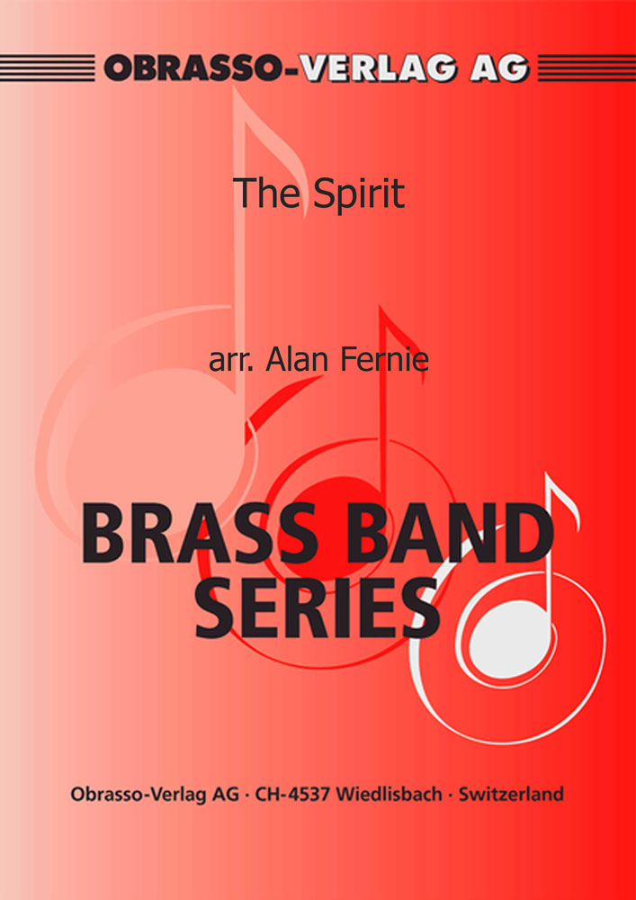 The Spirit (Euphonium Duet with Brass Band - Score and Parts)