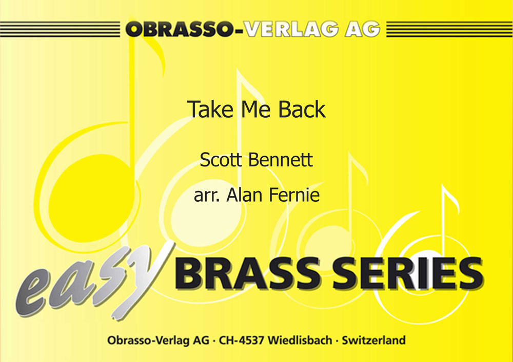 Take Me Back (Eb Bass Solo with Easy Brass Band - Score and Parts)