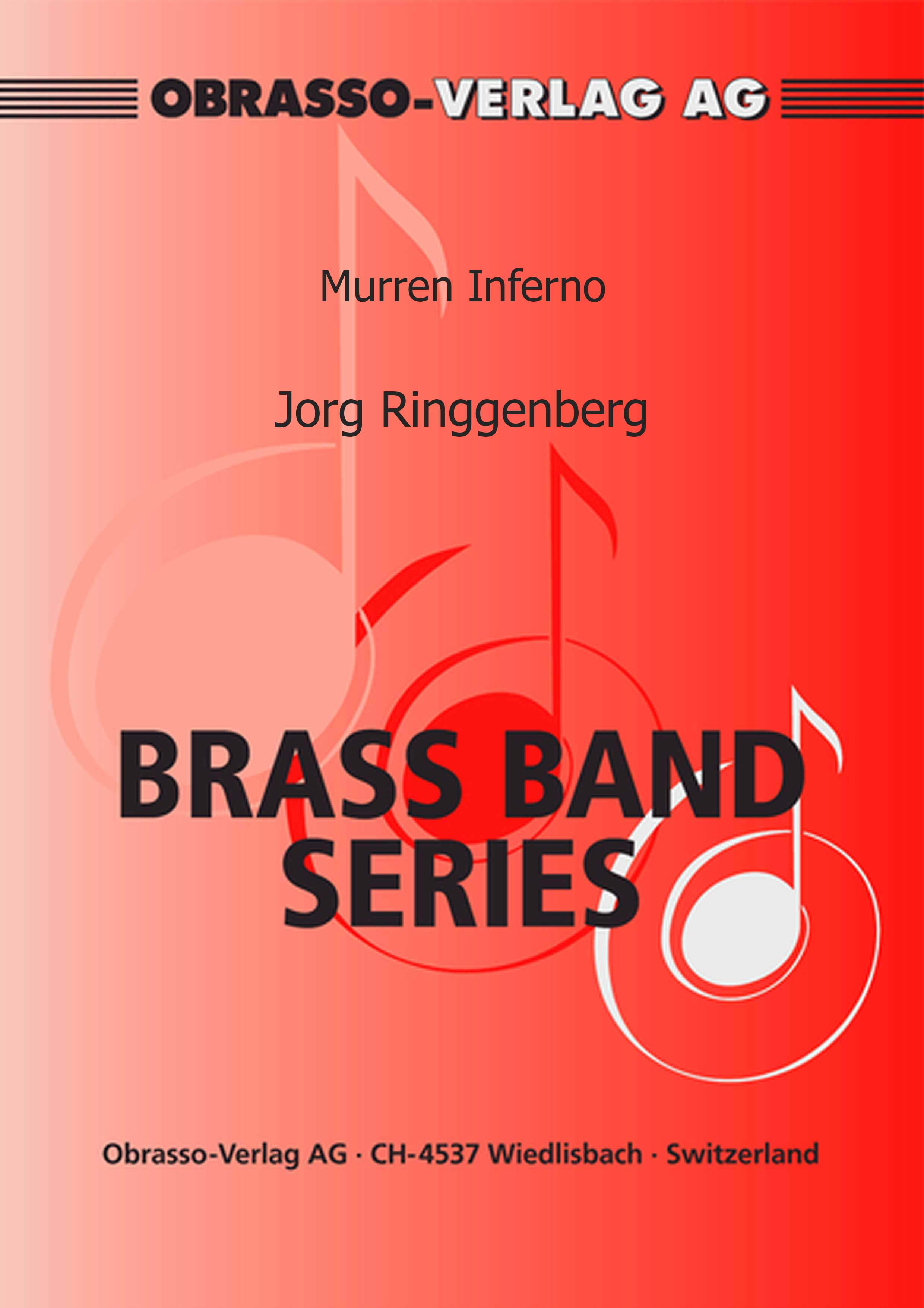 Murren Inferno (Brass Band - Score and Parts)