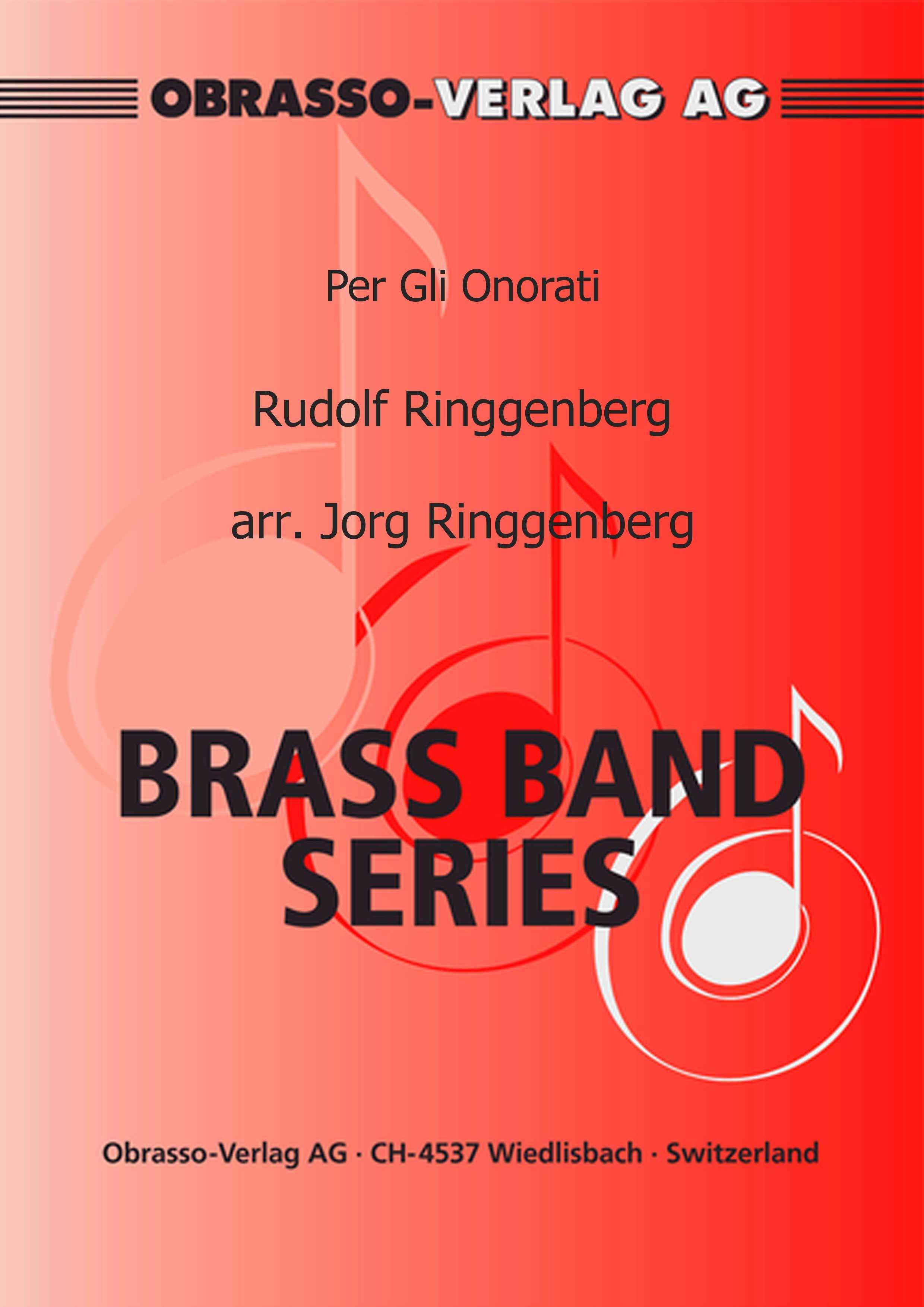 Per Gli Onorati (Brass Band - Score and Parts)