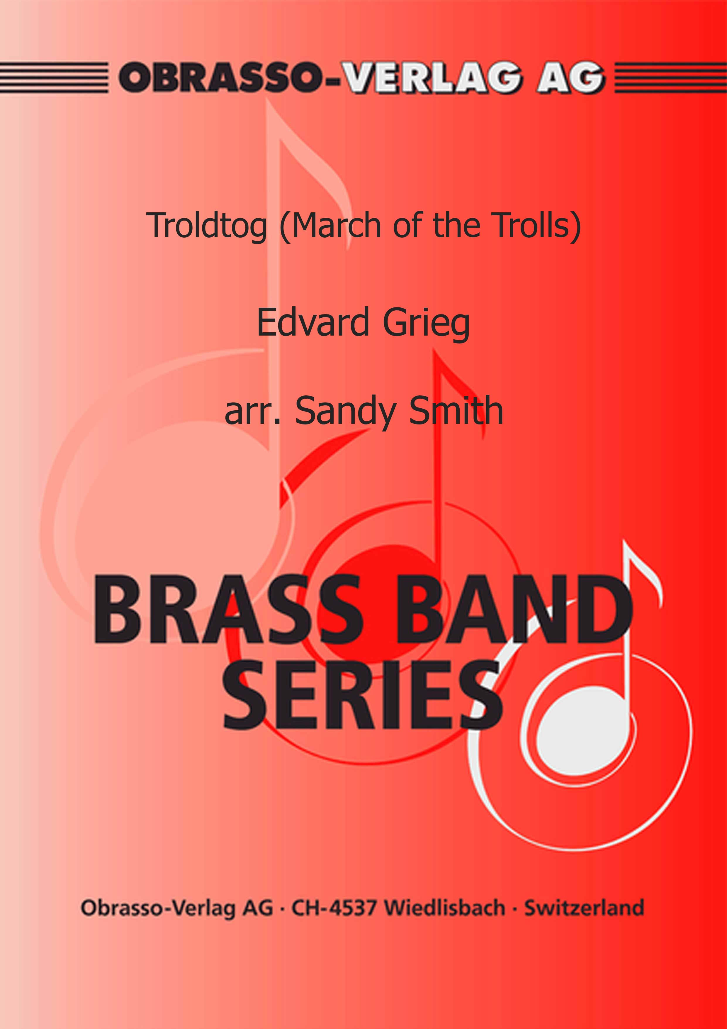 Troldtog (March of the Trolls) (Brass Band - Score and Parts)