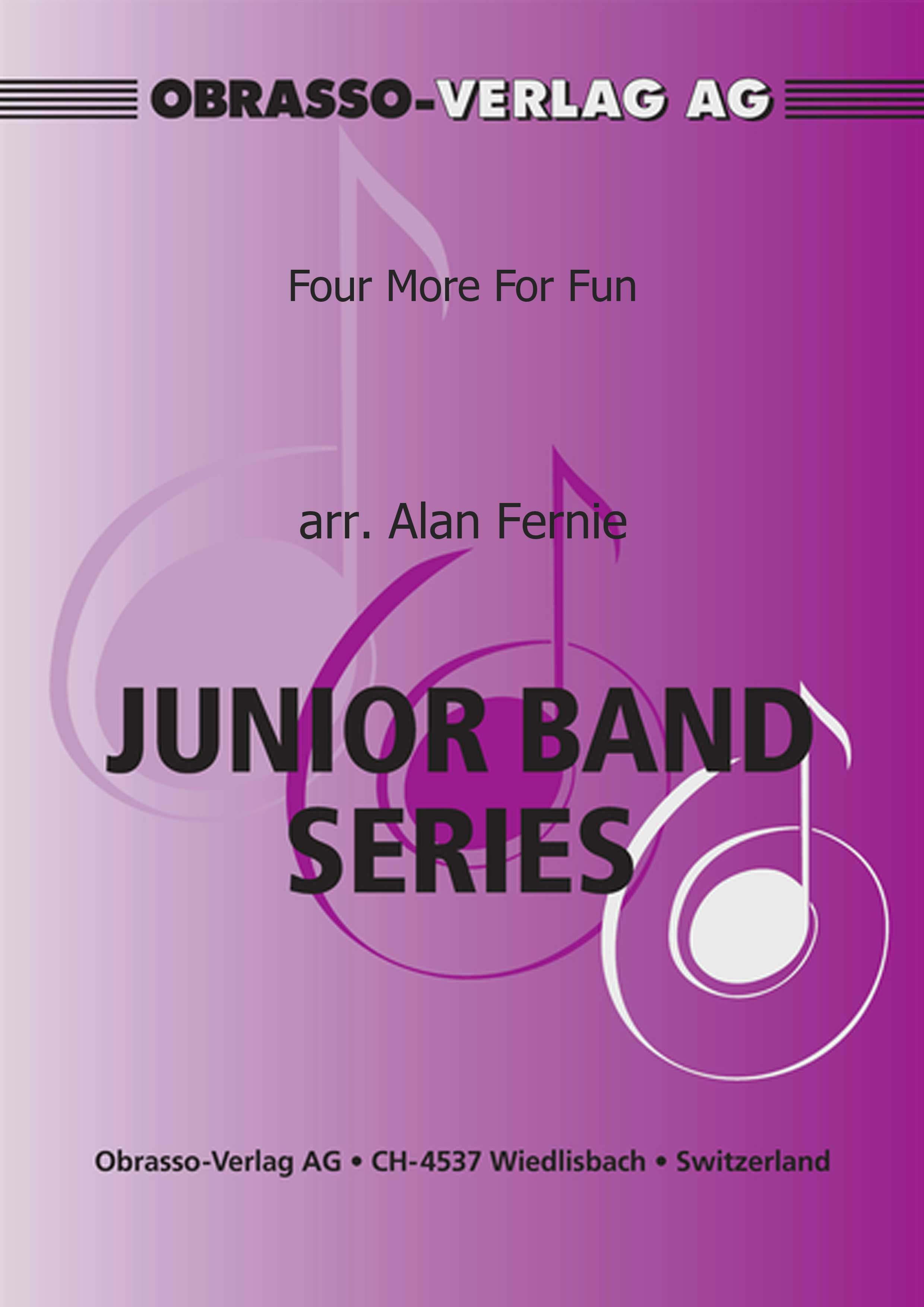 Four More For Fun (4 Part Flexible Ensemble - Score and Parts)